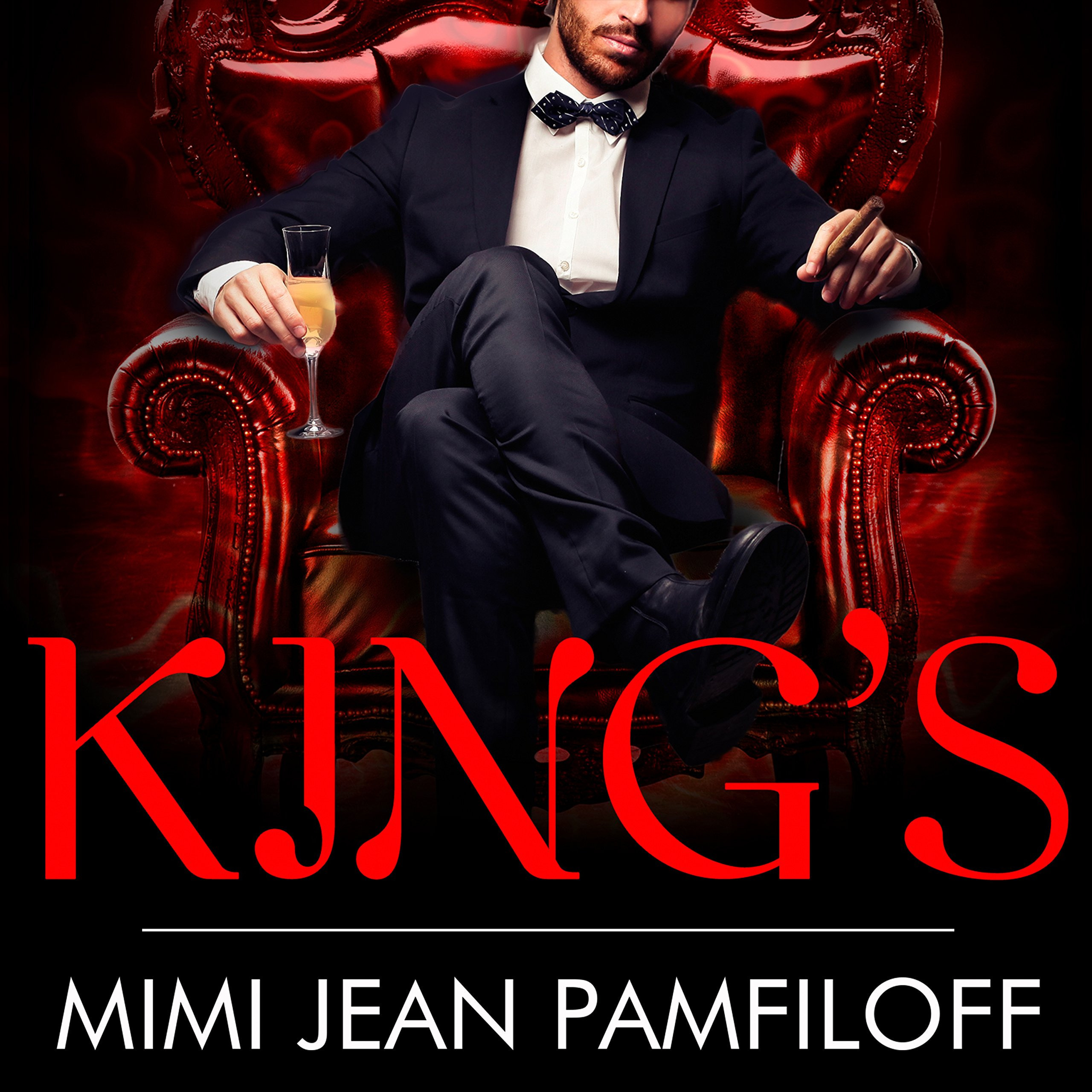 Printable King of Me Audiobook Cover Art