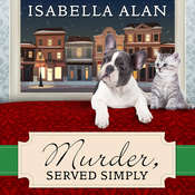 Murder, Served Simply: An Amish Quilt Shop Mystery, by Isabella Alan