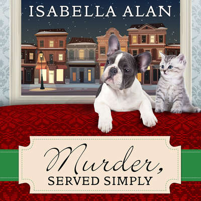 Murder, Served Simply: An Amish Quilt Shop Mystery Audiobook, by Isabella Alan