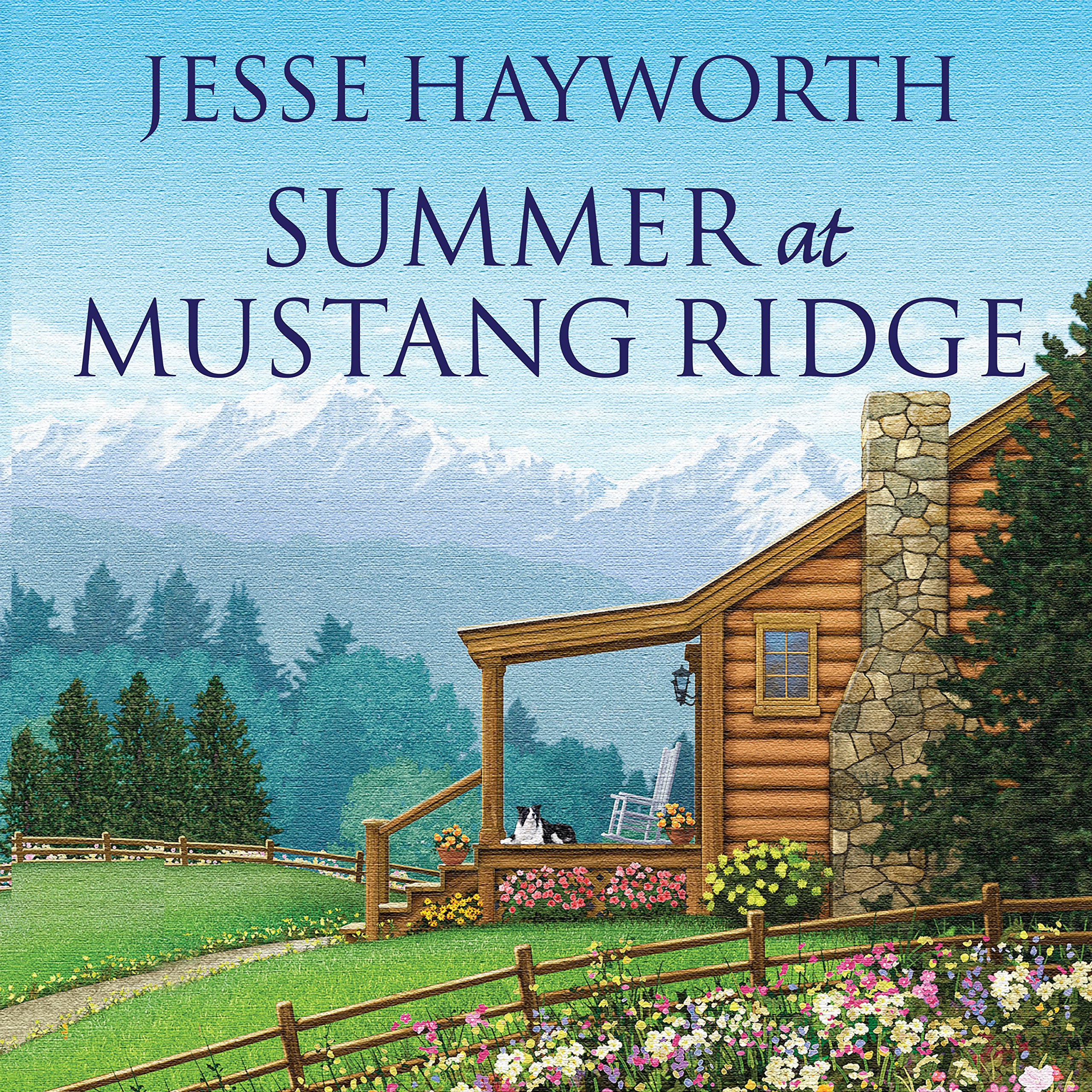 Printable Summer at Mustang Ridge Audiobook Cover Art