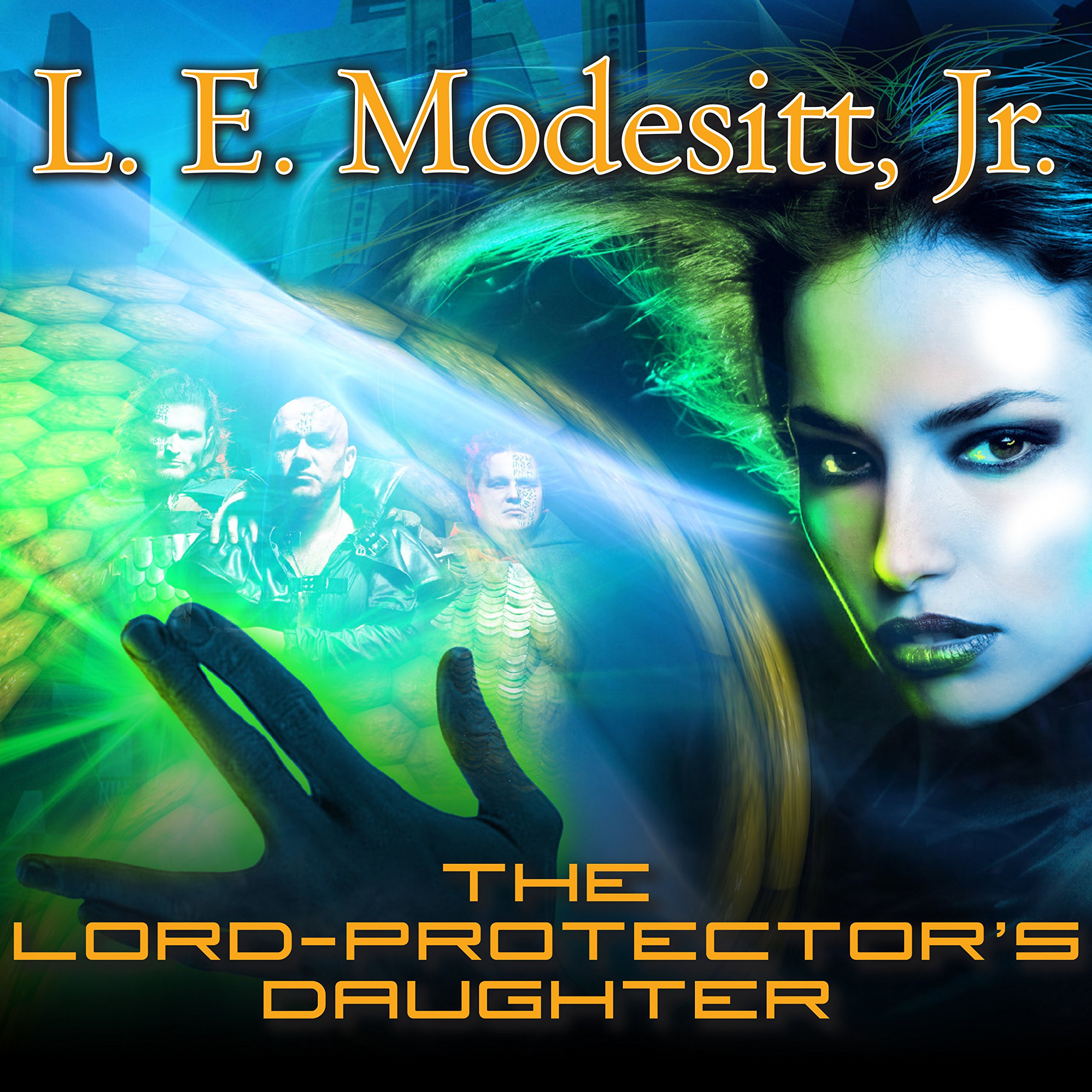 Printable The Lord-Protector's Daughter: The Seventh Book of the Corean Chronicles Audiobook Cover Art
