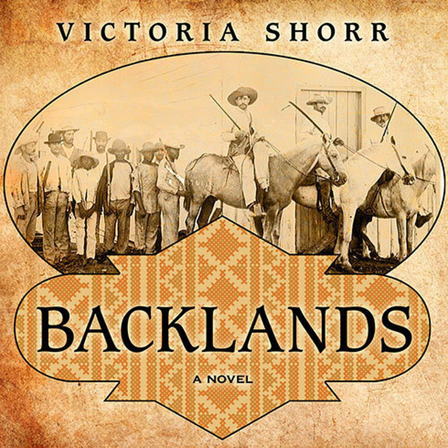 Printable Backlands: A Novel Audiobook Cover Art