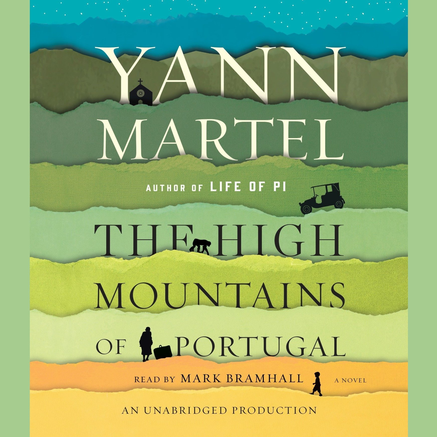 Printable The High Mountains of Portugal: A Novel Audiobook Cover Art
