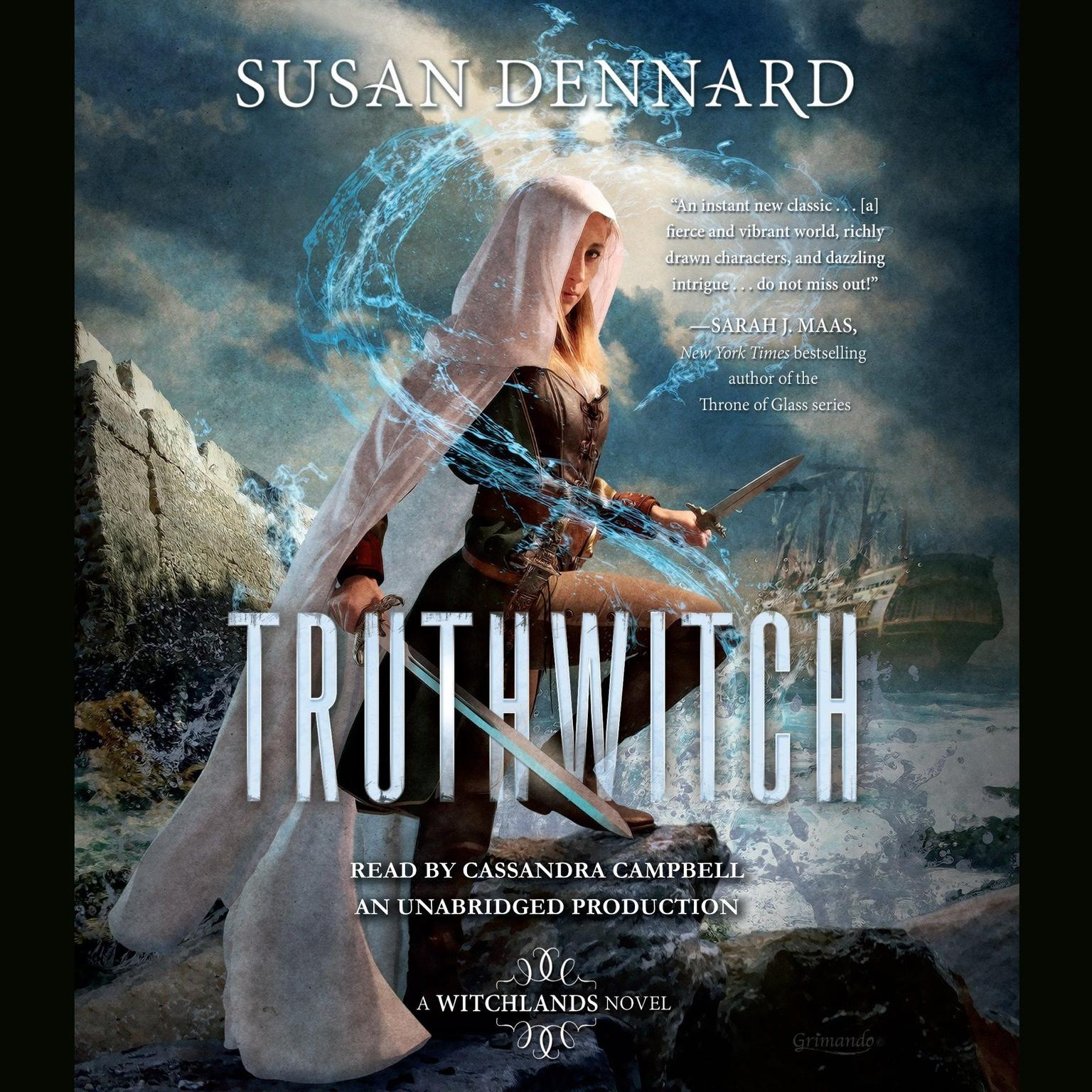 Printable Truthwitch: A Witchlands Novel Audiobook Cover Art