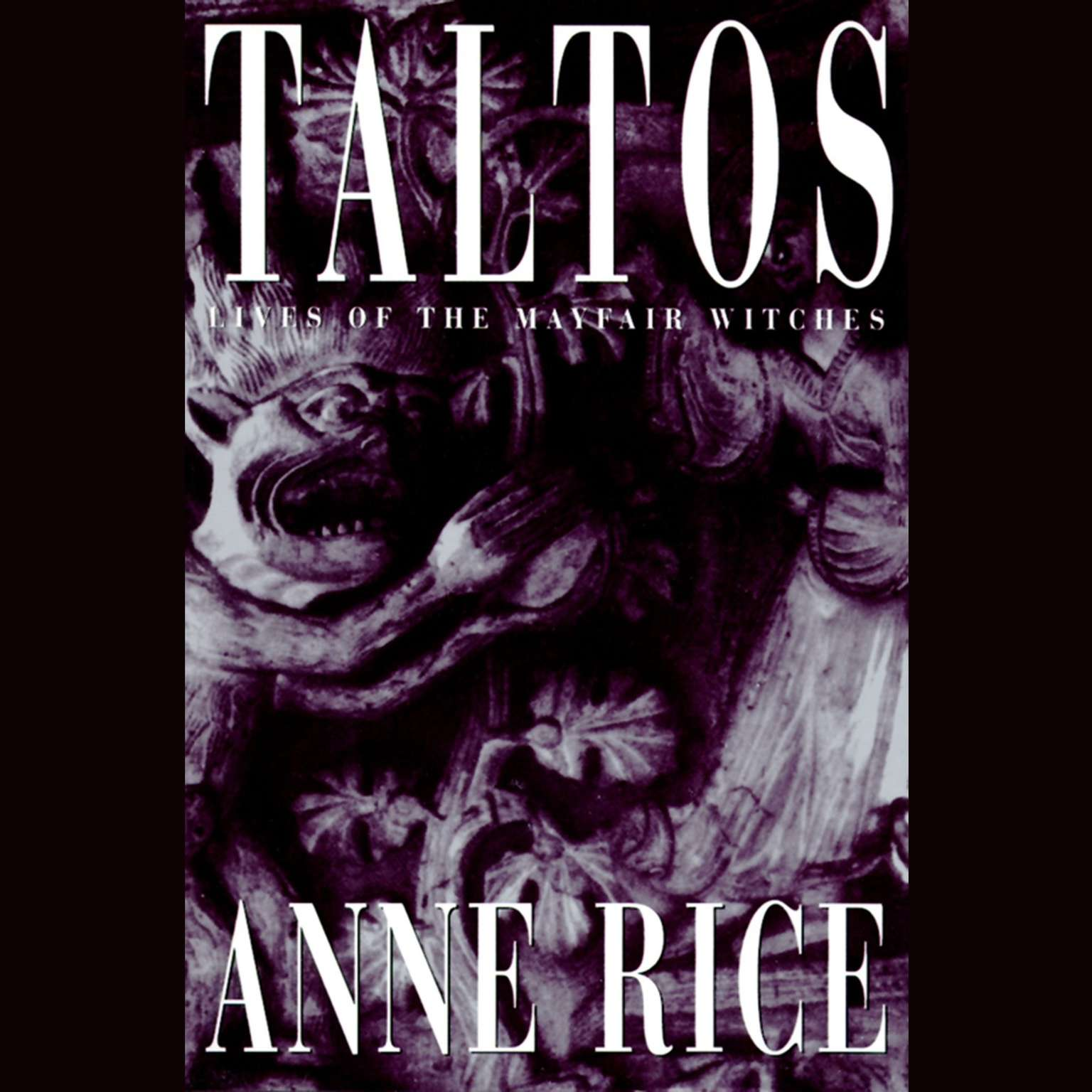 Printable Taltos Audiobook Cover Art
