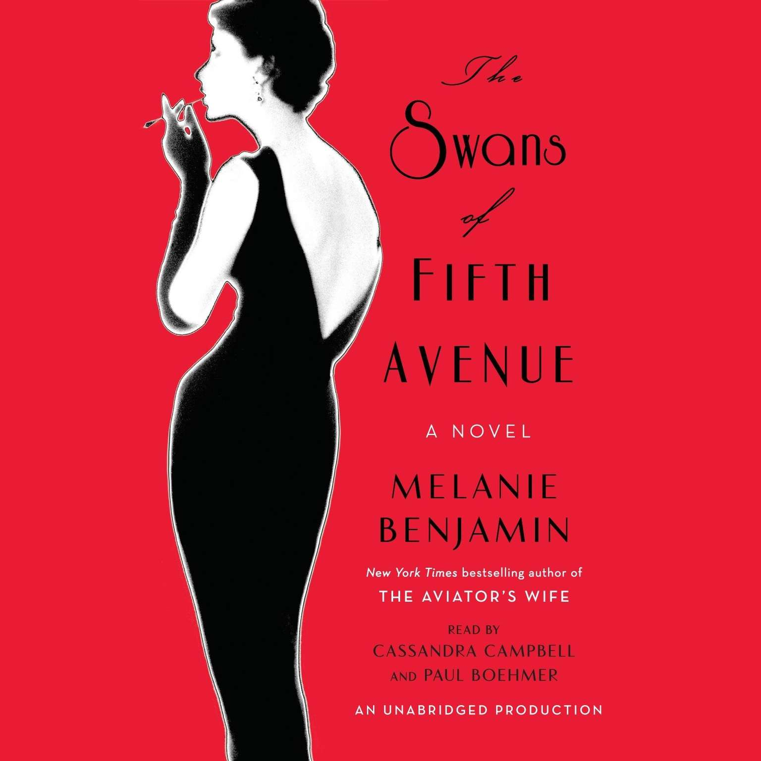 Printable The Swans of Fifth Avenue: A Novel Audiobook Cover Art