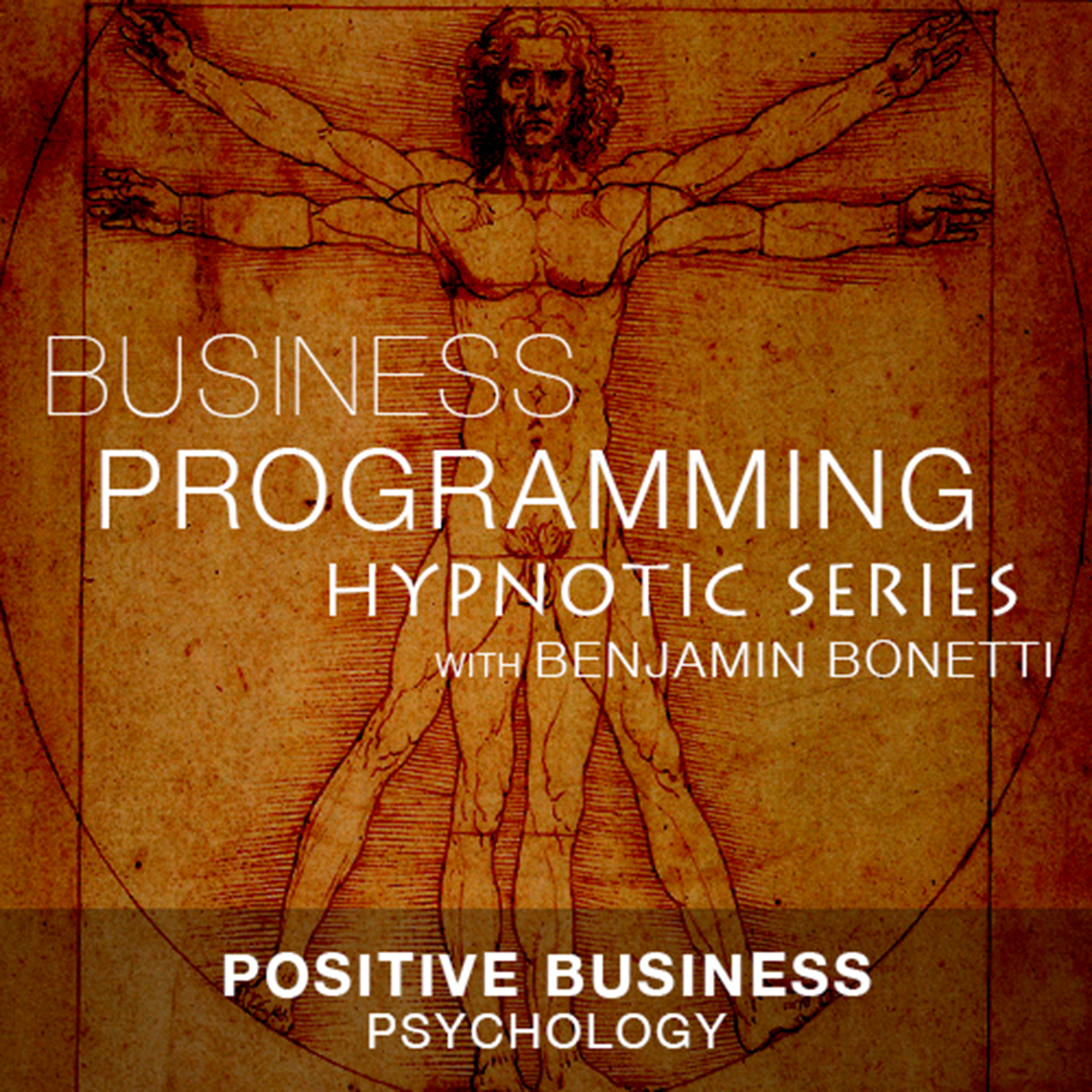 Printable Positive Business Psychology Audiobook Cover Art