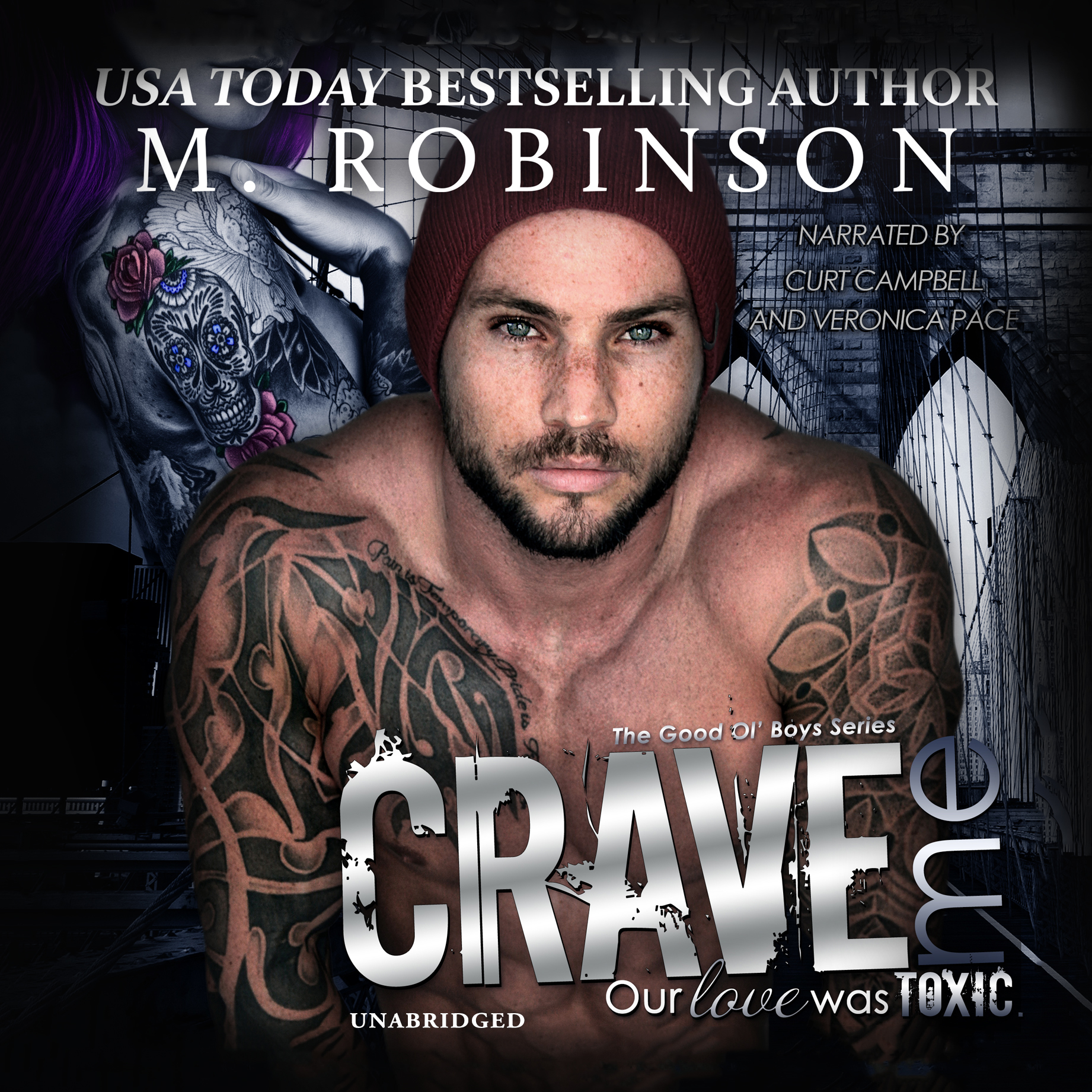 Printable Crave Me Audiobook Cover Art