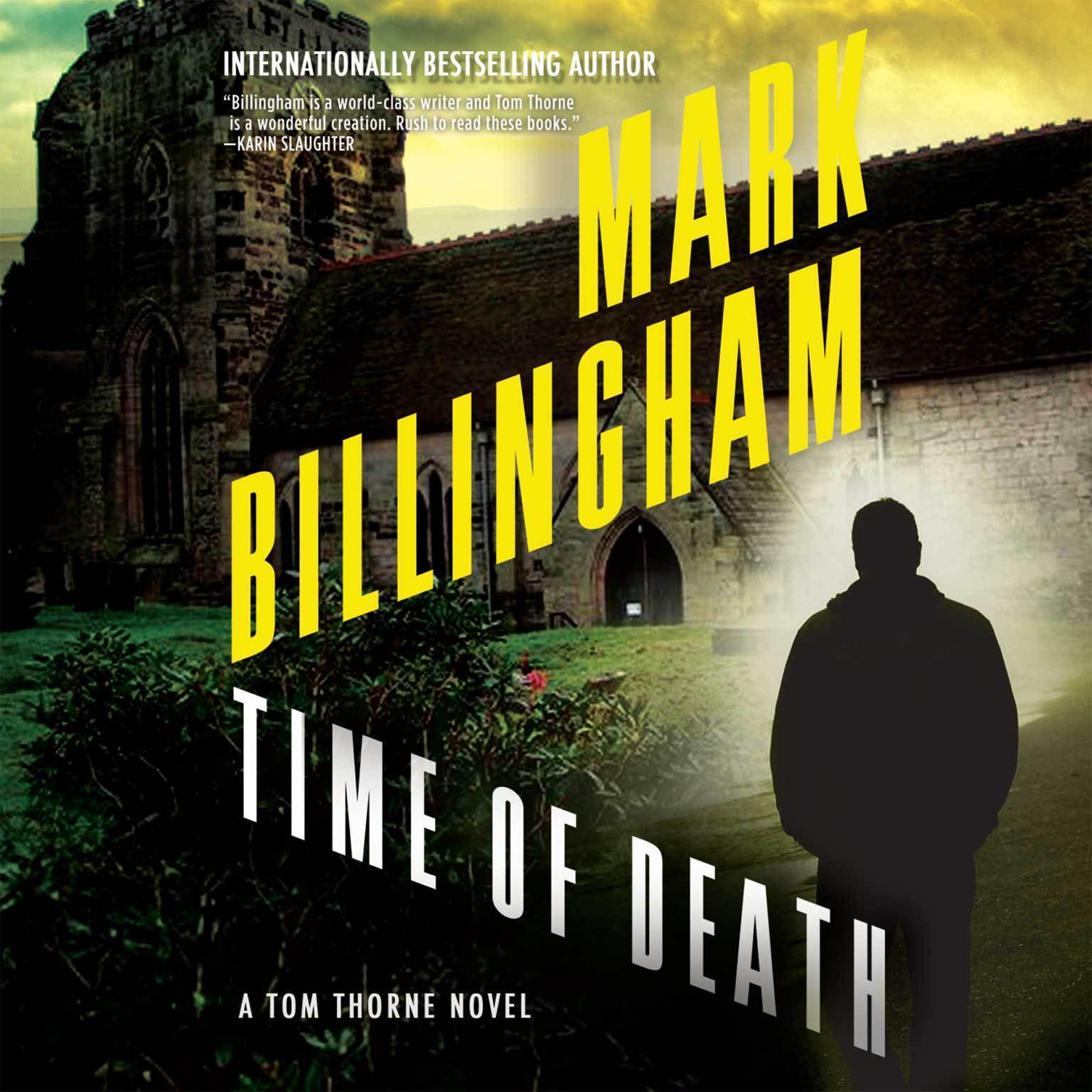 Printable Time of Death Audiobook Cover Art