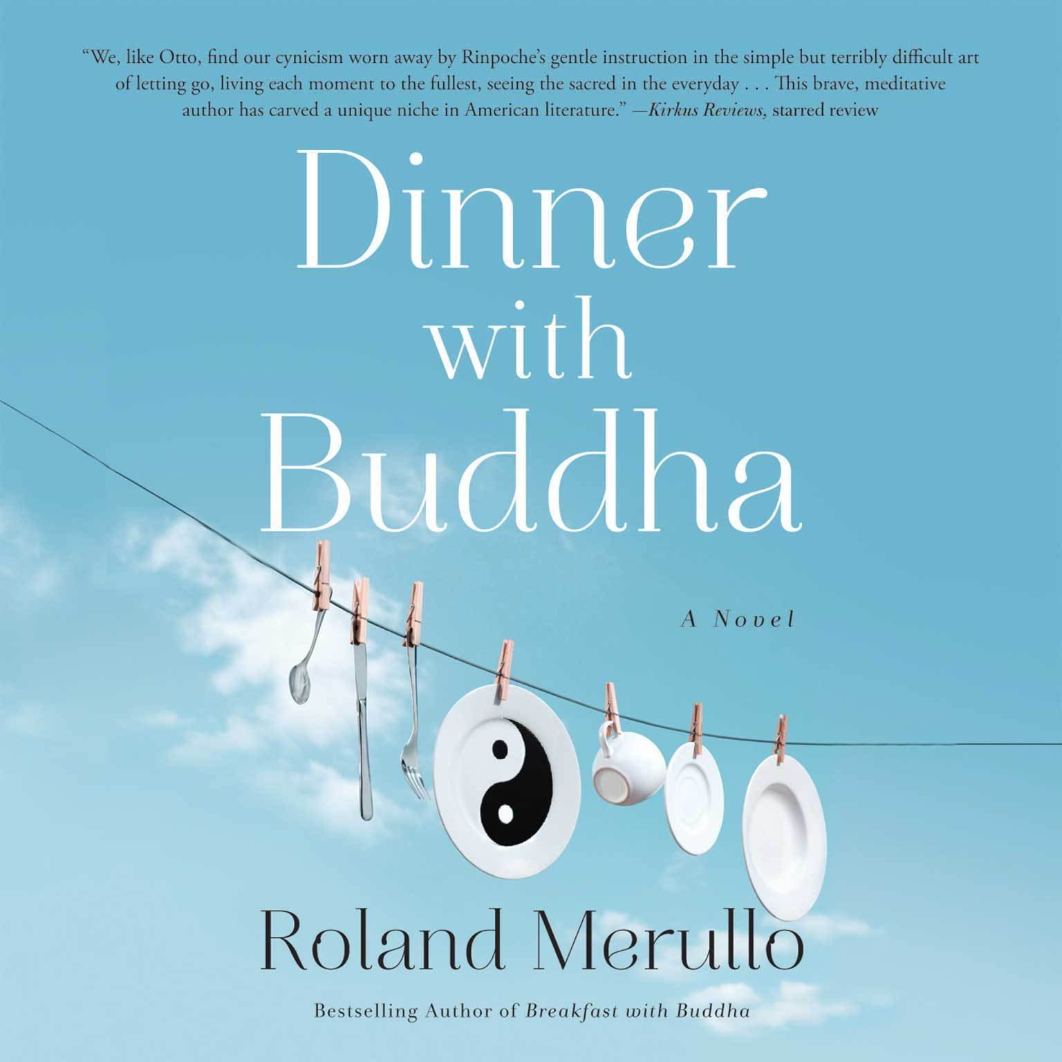 Printable Dinner with Buddha Audiobook Cover Art