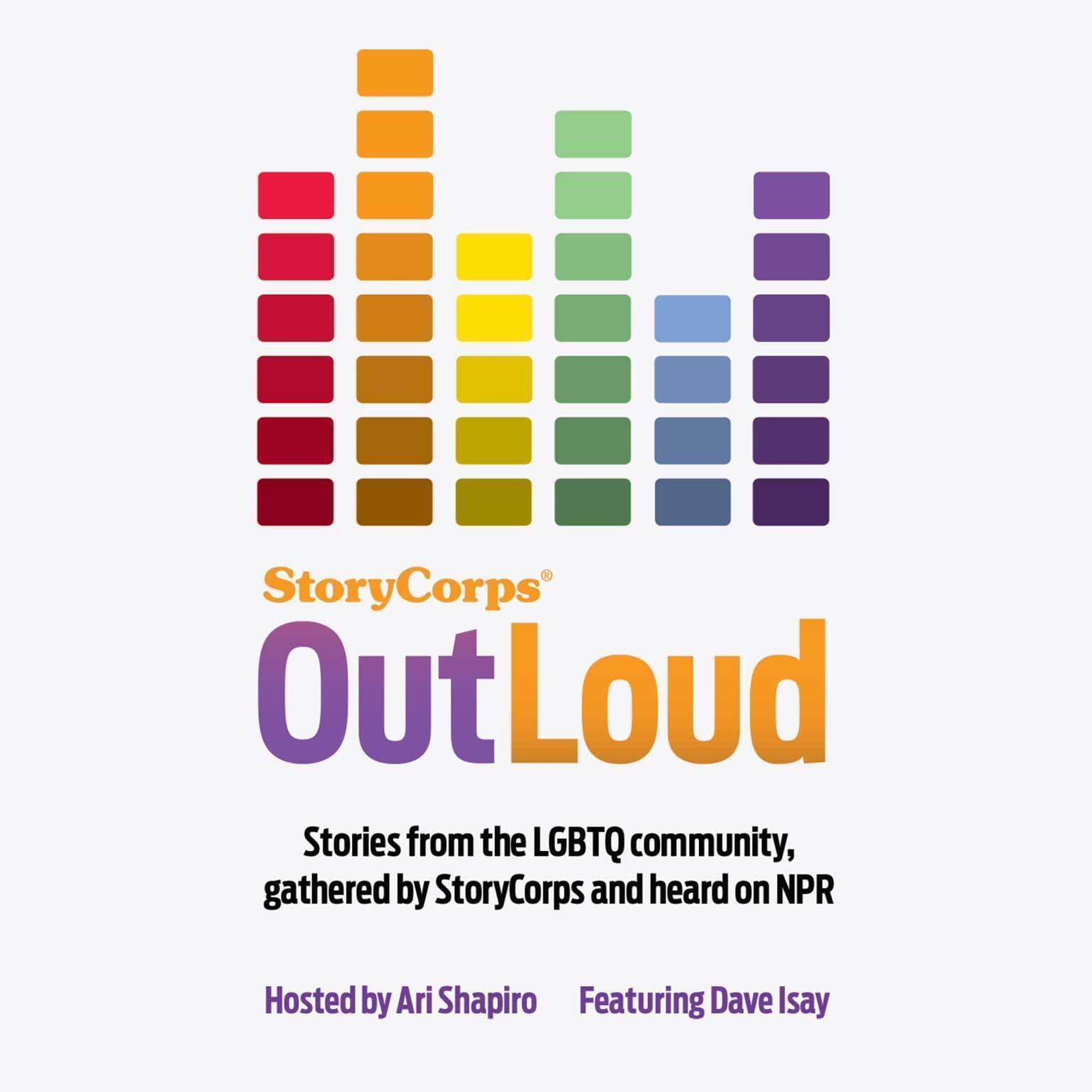 Printable StoryCorps: OutLoud: Voices of the LGBTQ Community From across America Audiobook Cover Art