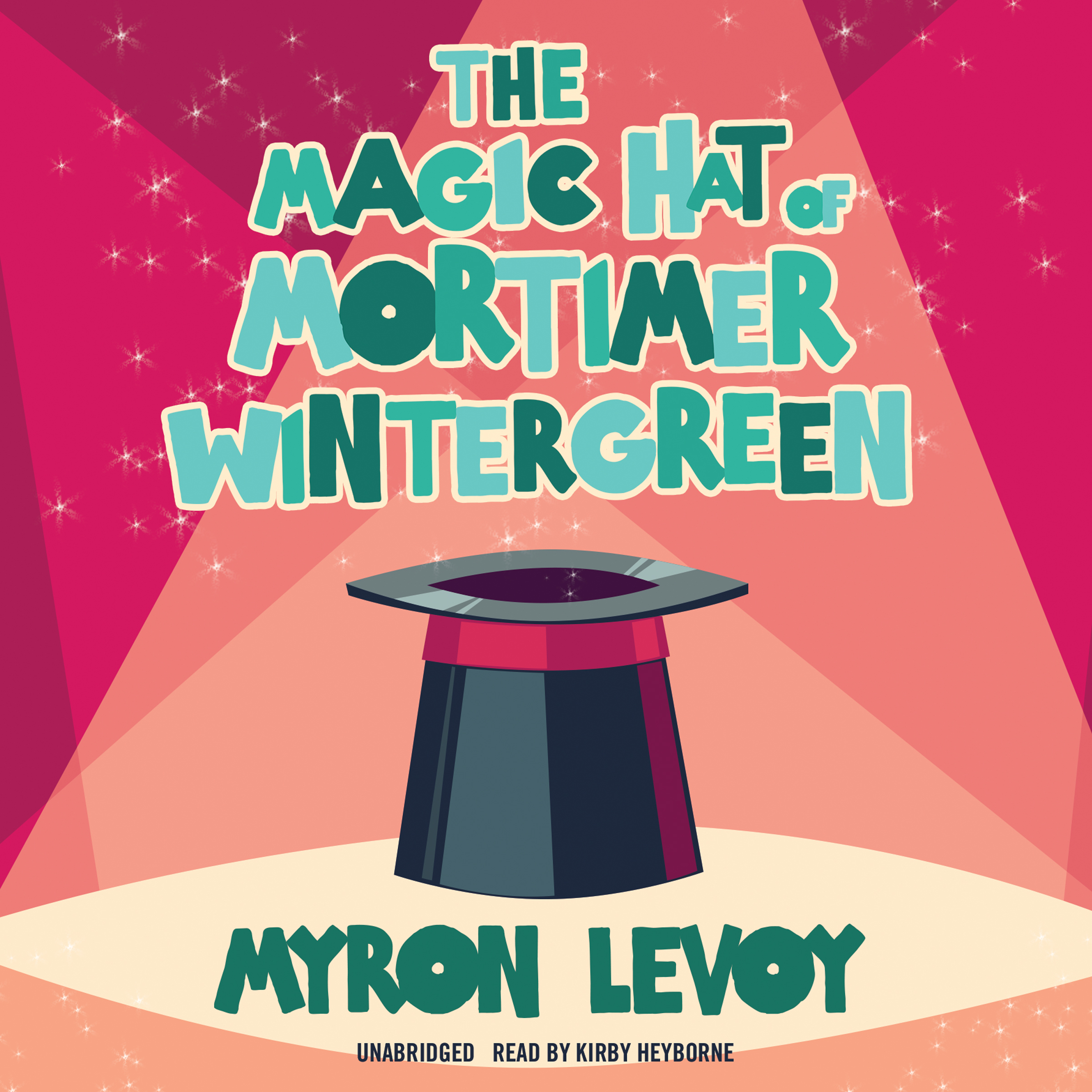Printable The Magic Hat of Mortimer Wintergreen Audiobook Cover Art