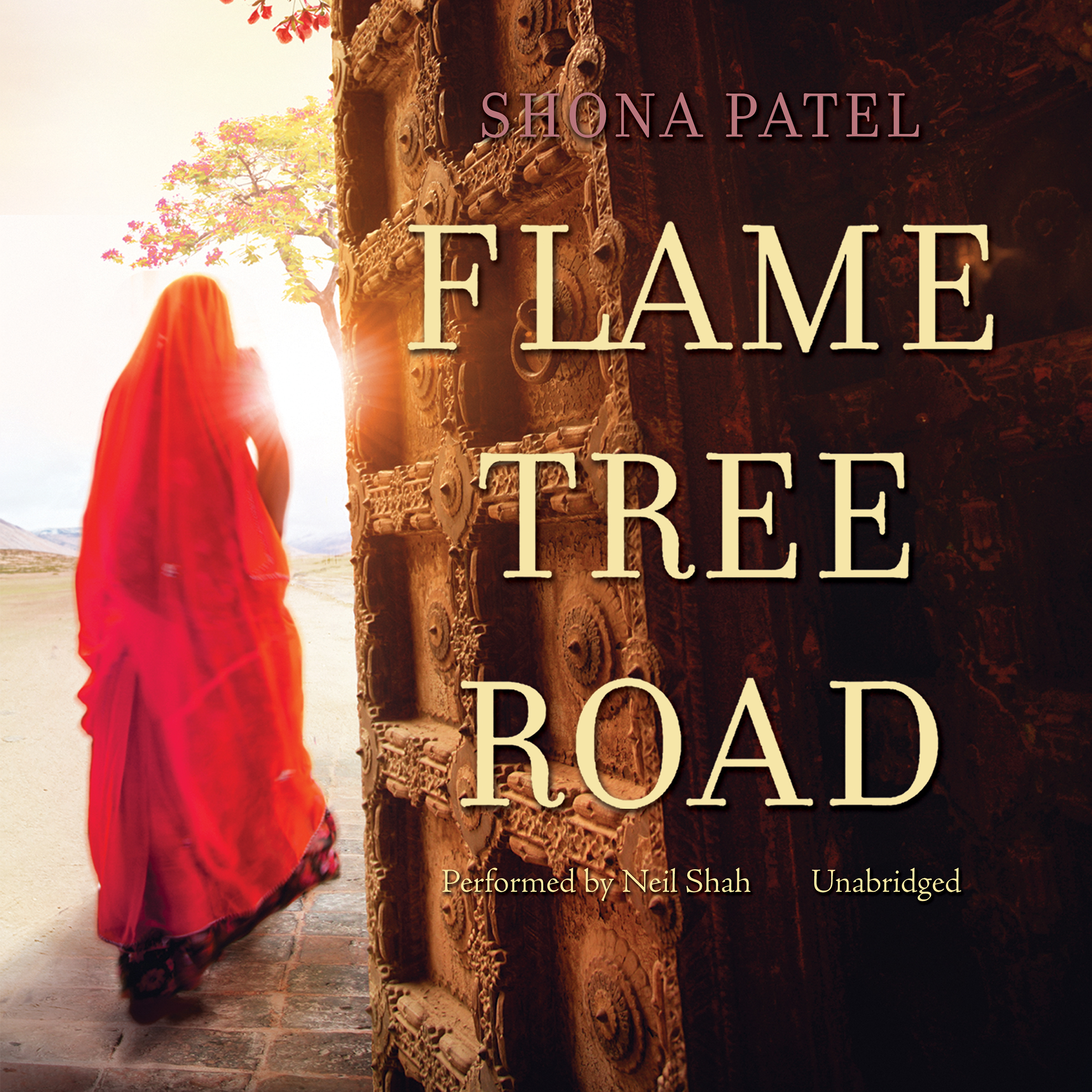 Printable Flame Tree Road Audiobook Cover Art