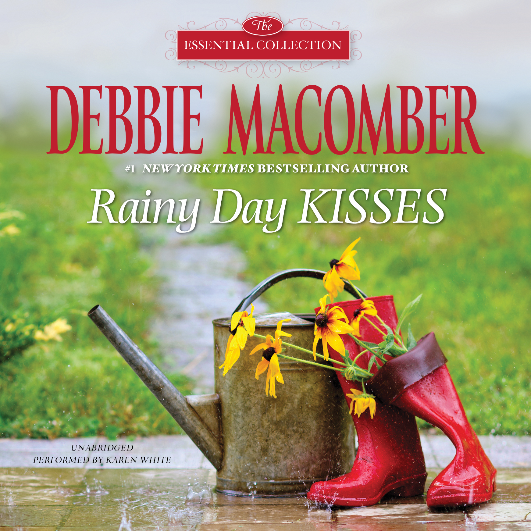 Printable Rainy Day Kisses Audiobook Cover Art