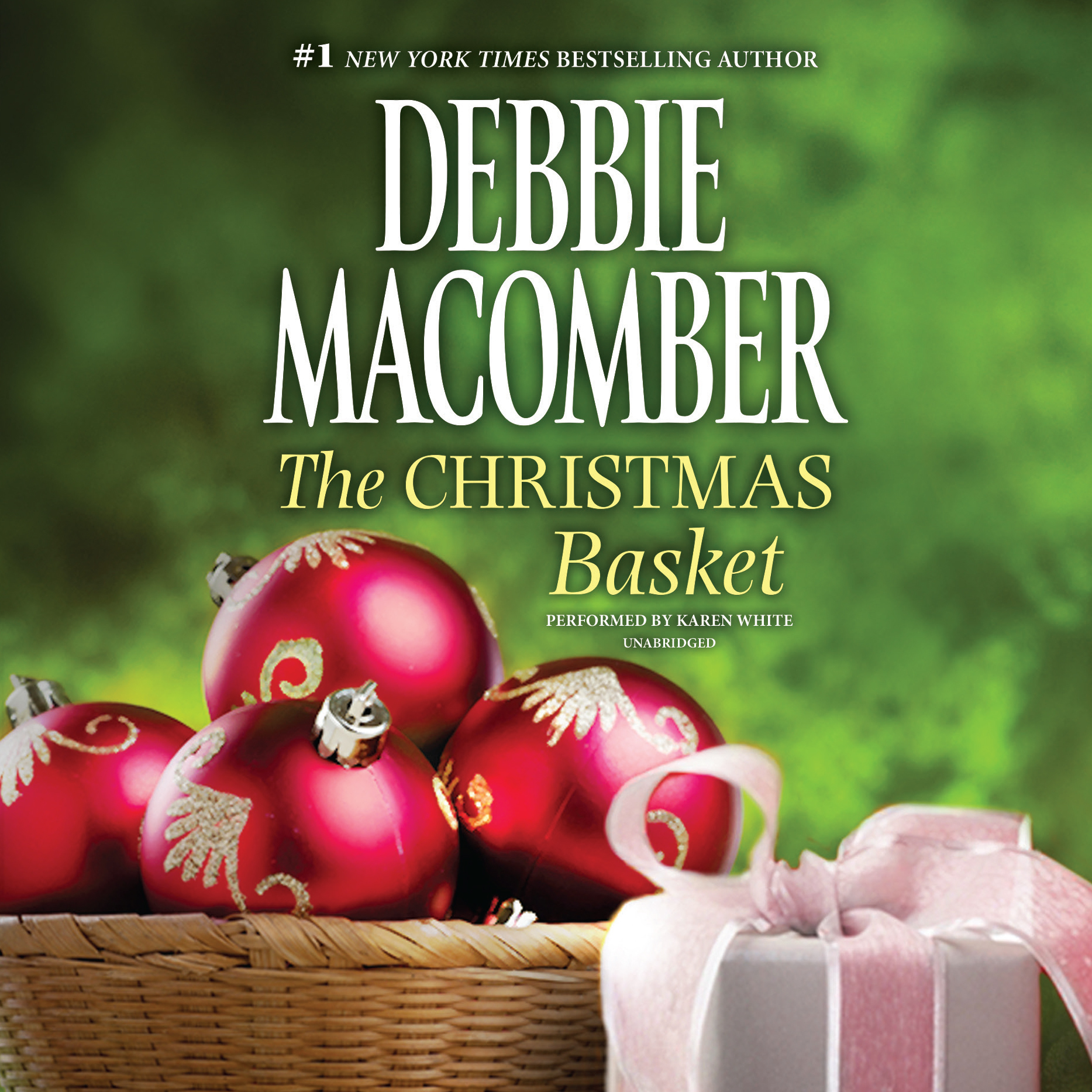 Printable The Christmas Basket Audiobook Cover Art