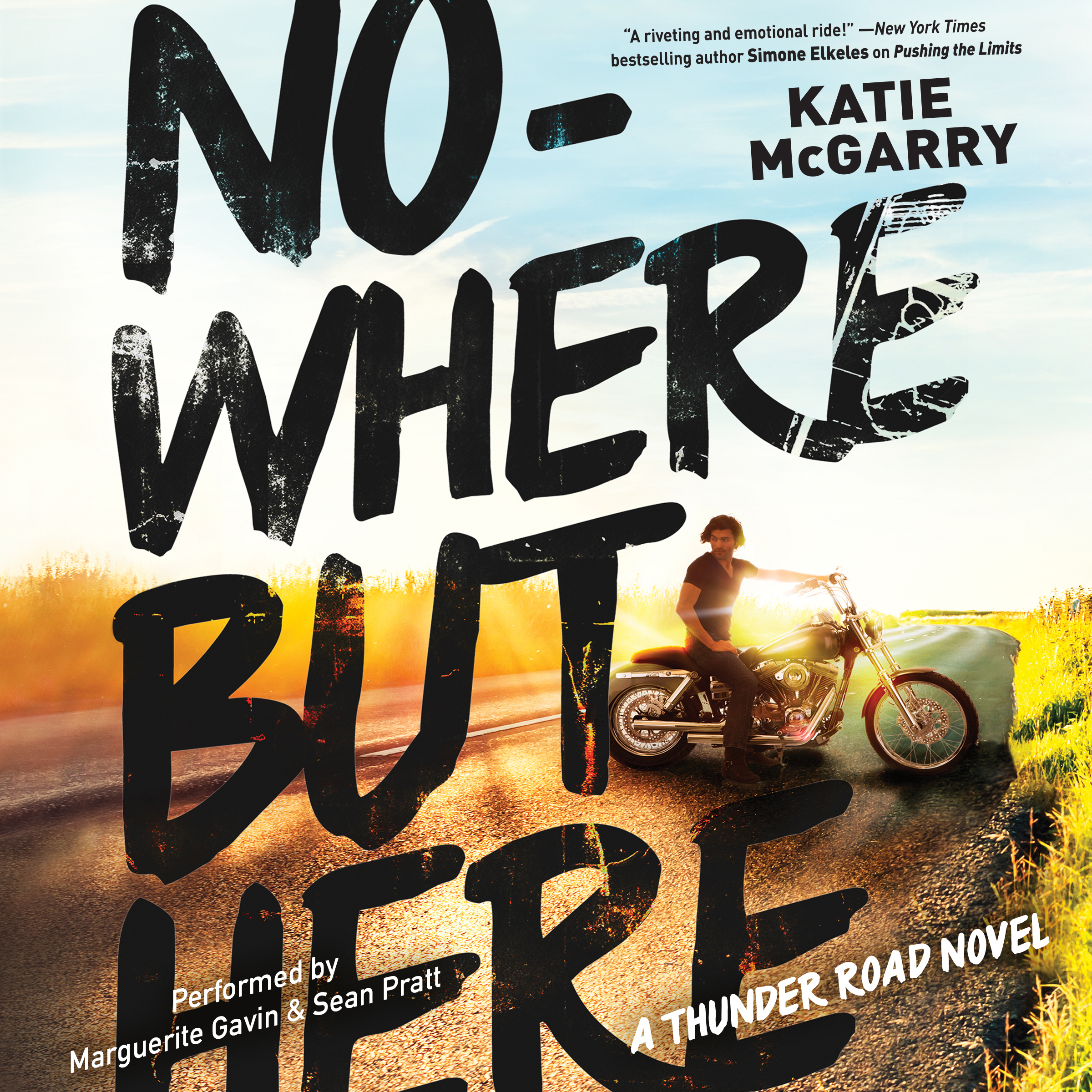 Printable Nowhere but Here Audiobook Cover Art