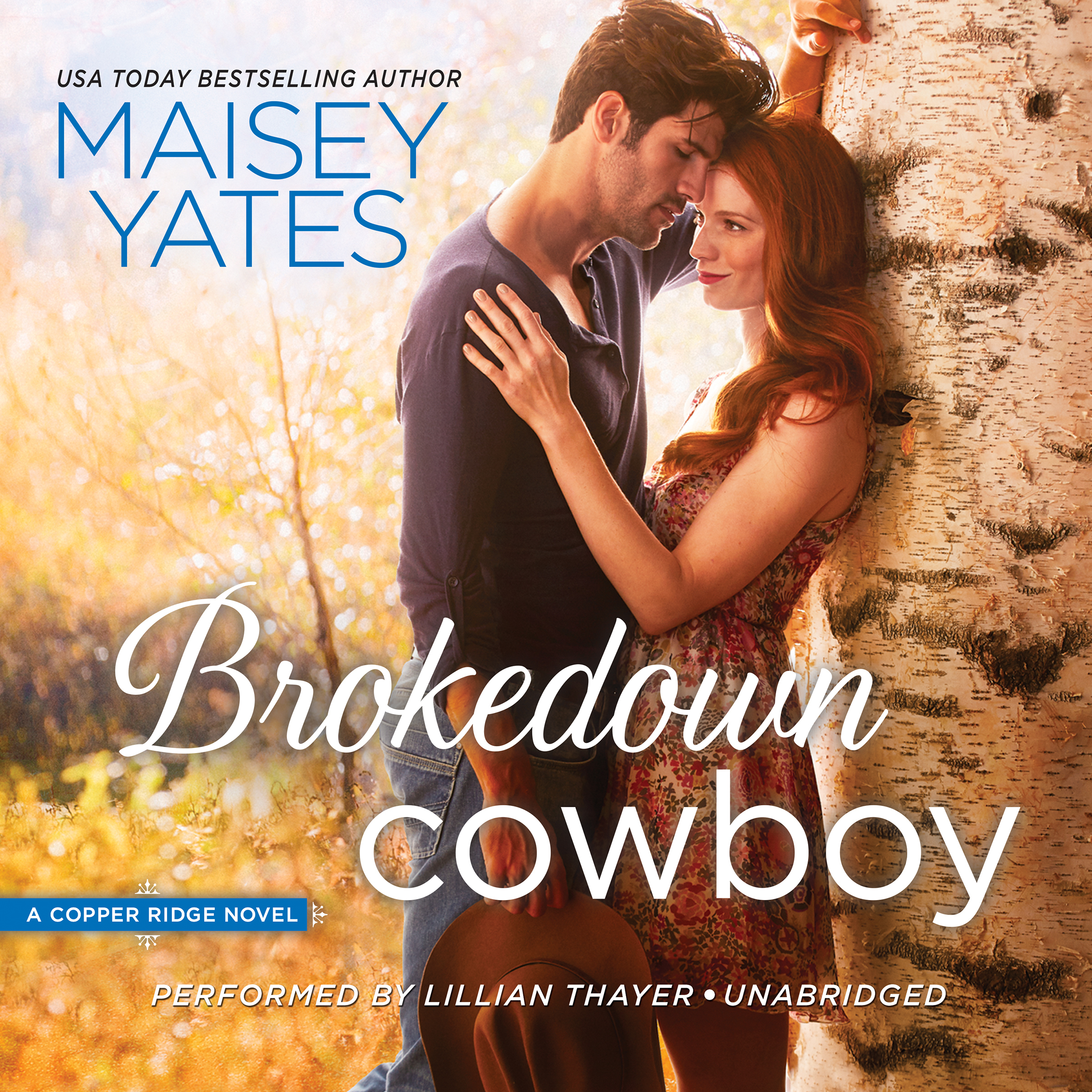Printable Brokedown Cowboy Audiobook Cover Art