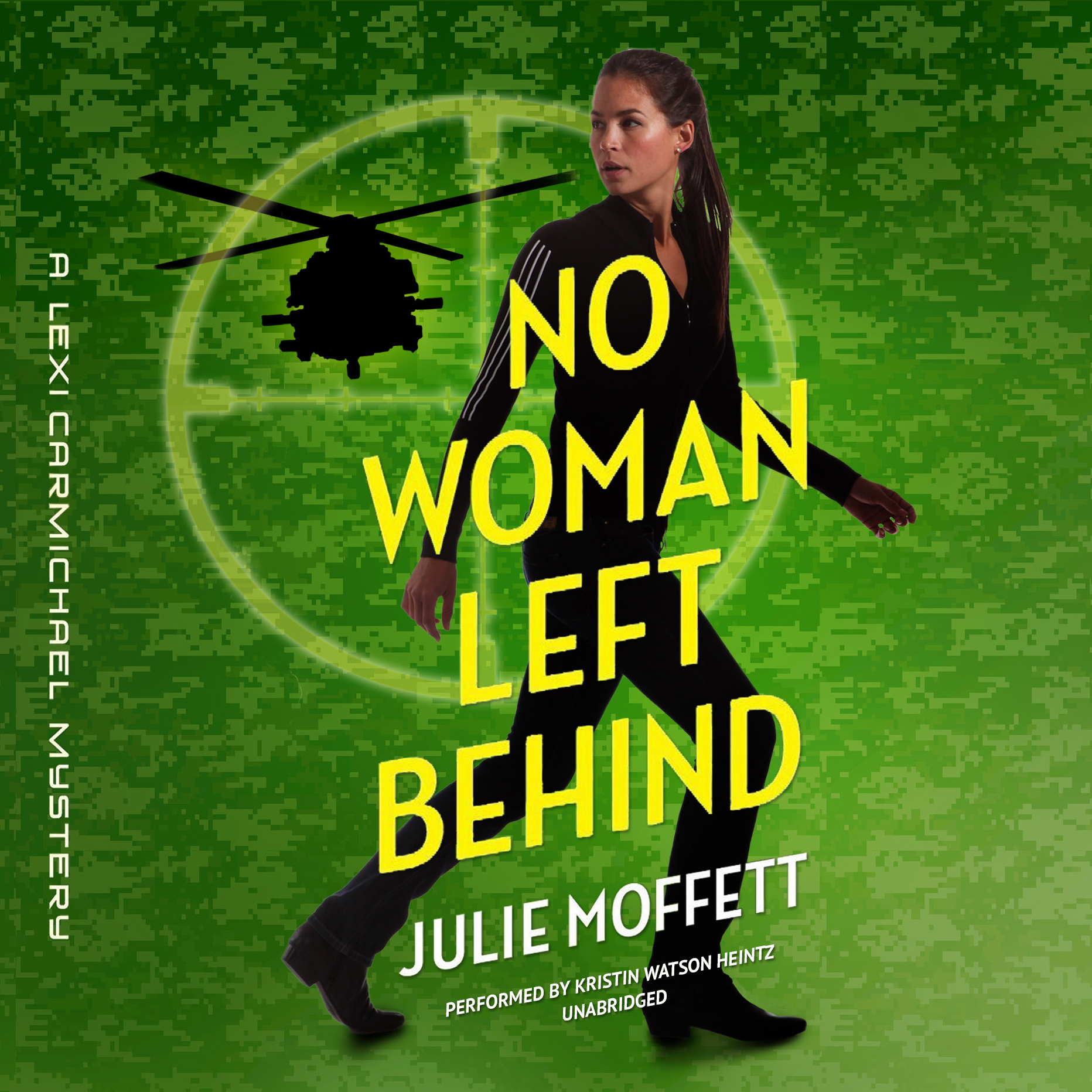 Printable No Woman Left Behind: A Lexi Carmichael Mystery Audiobook Cover Art