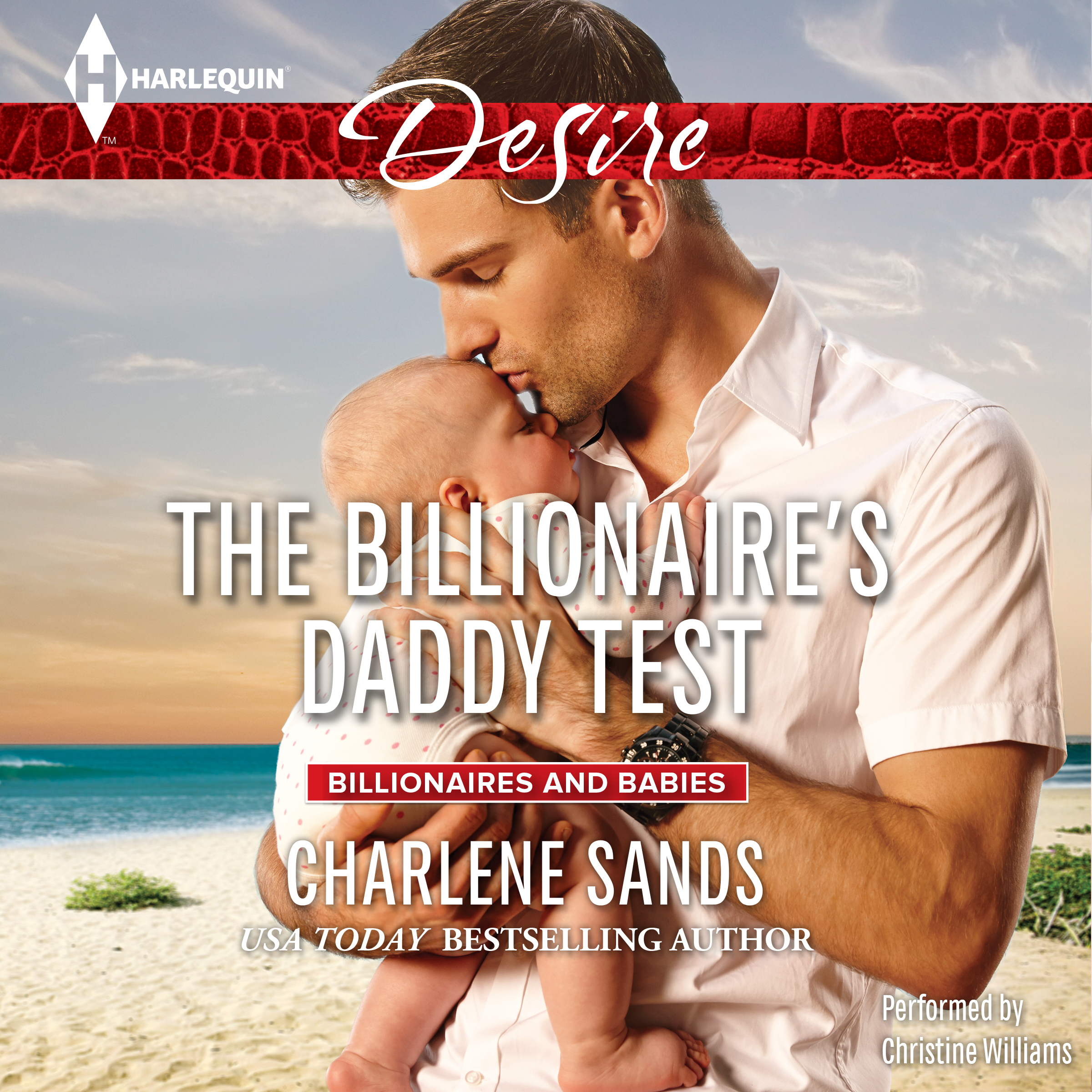 Printable The Billionaire's Daddy Test Audiobook Cover Art