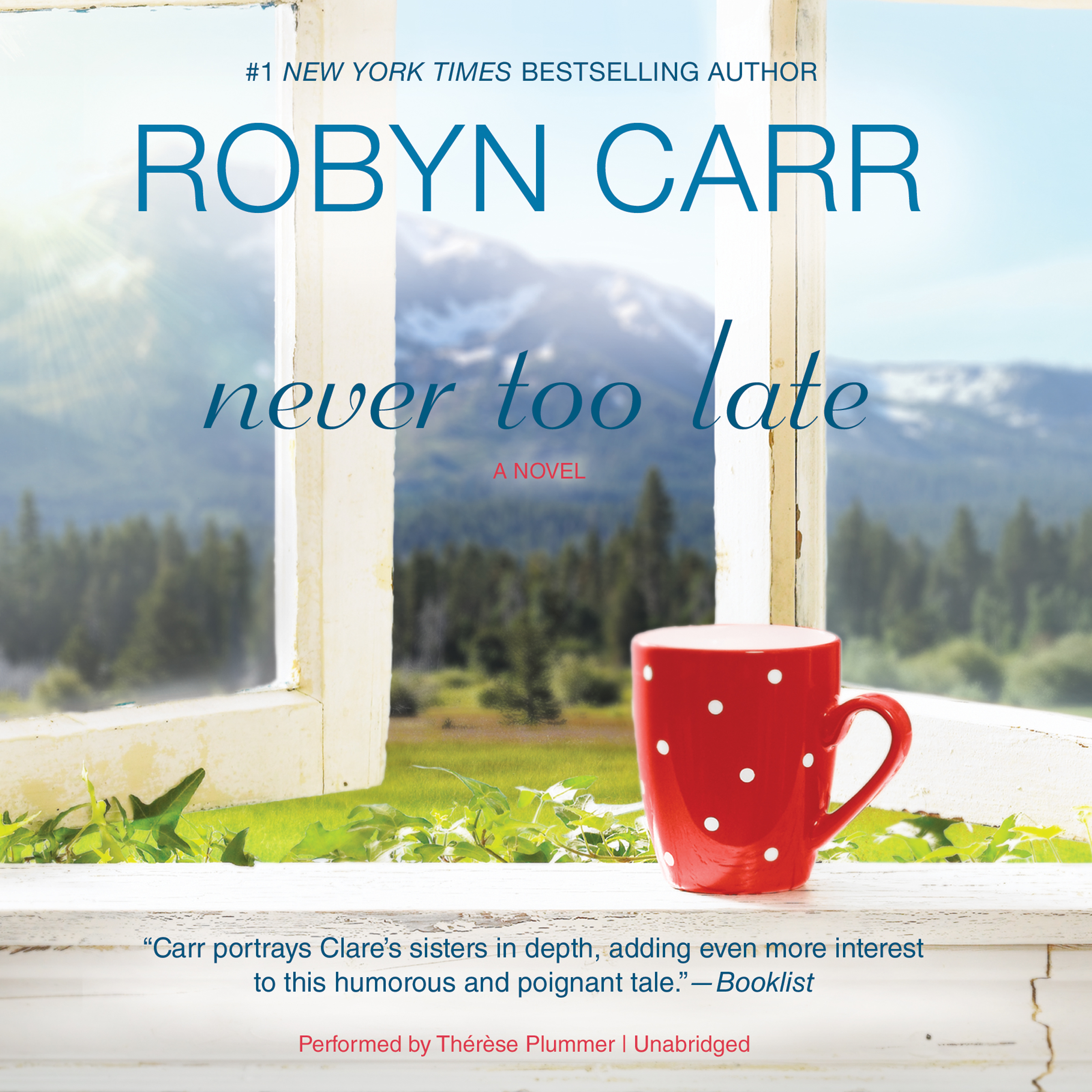 Printable Never Too Late Audiobook Cover Art