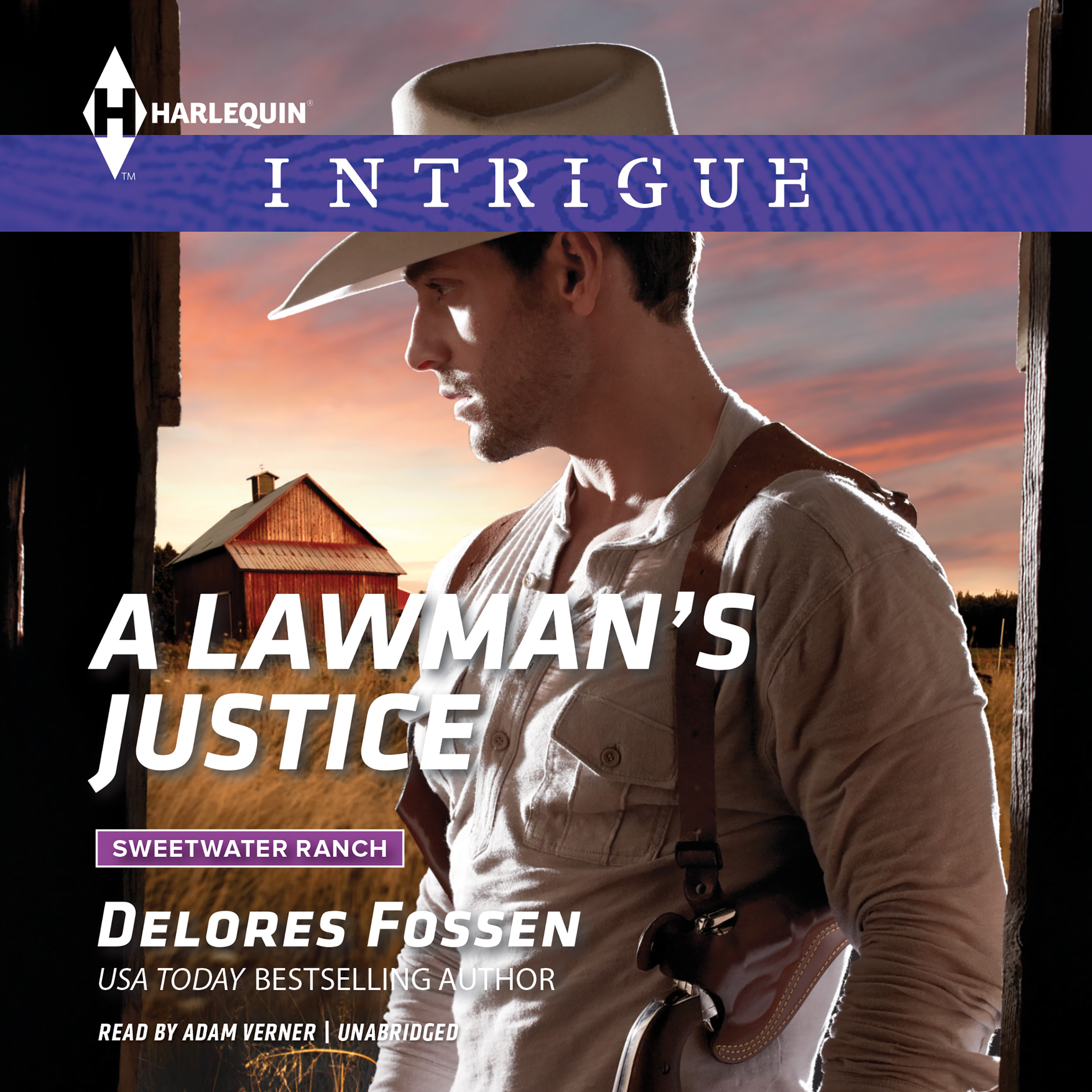 Printable A Lawman's Justice Audiobook Cover Art