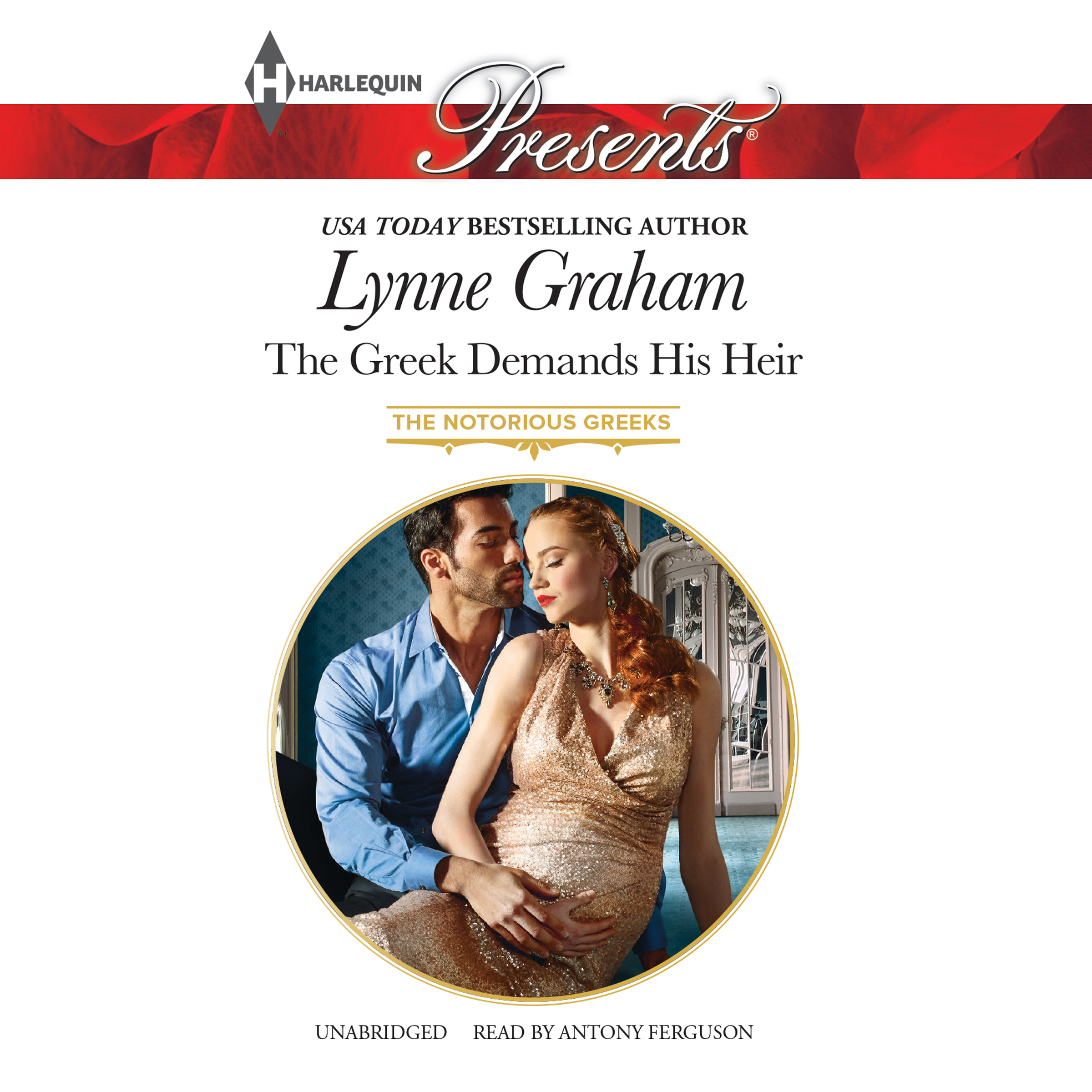 Printable The Greek Demands His Heir Audiobook Cover Art