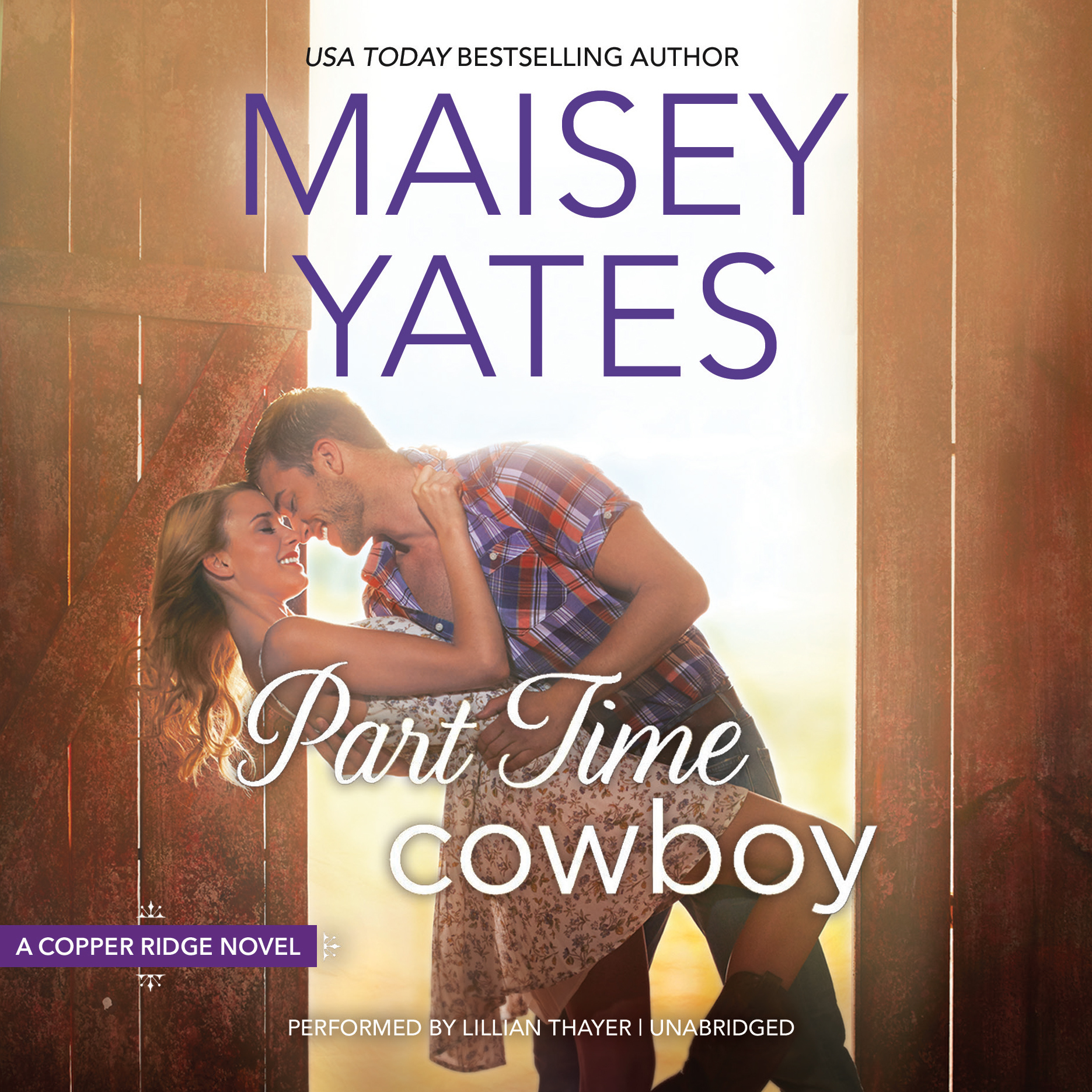 Printable Part Time Cowboy Audiobook Cover Art