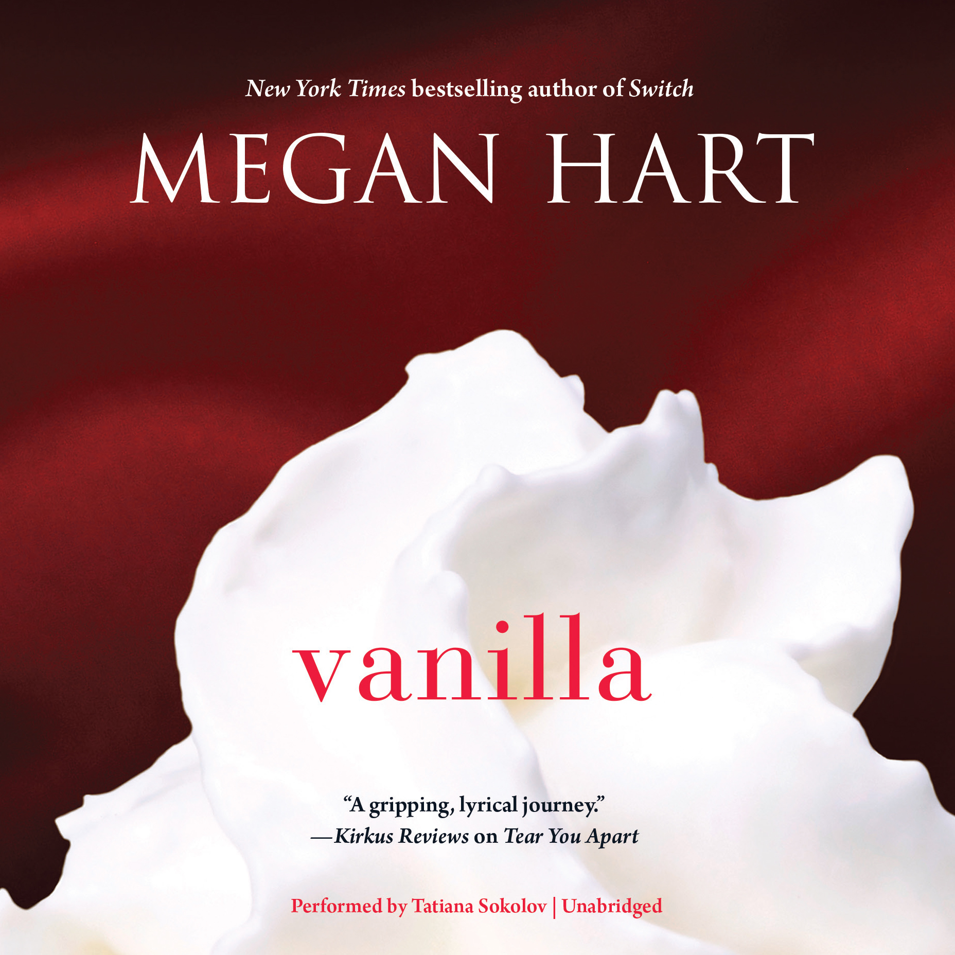 Printable Vanilla Audiobook Cover Art