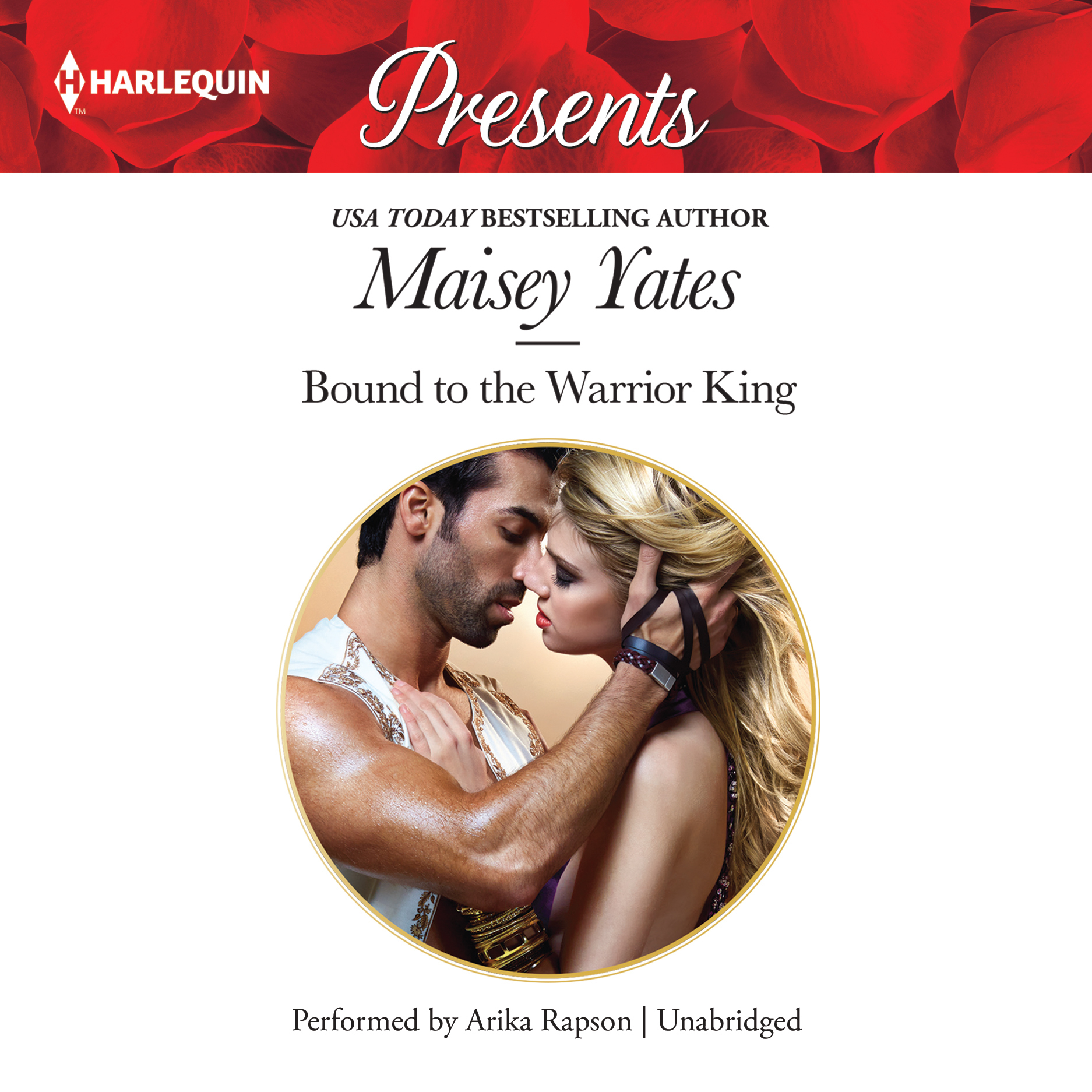 Printable Bound to the Warrior King Audiobook Cover Art