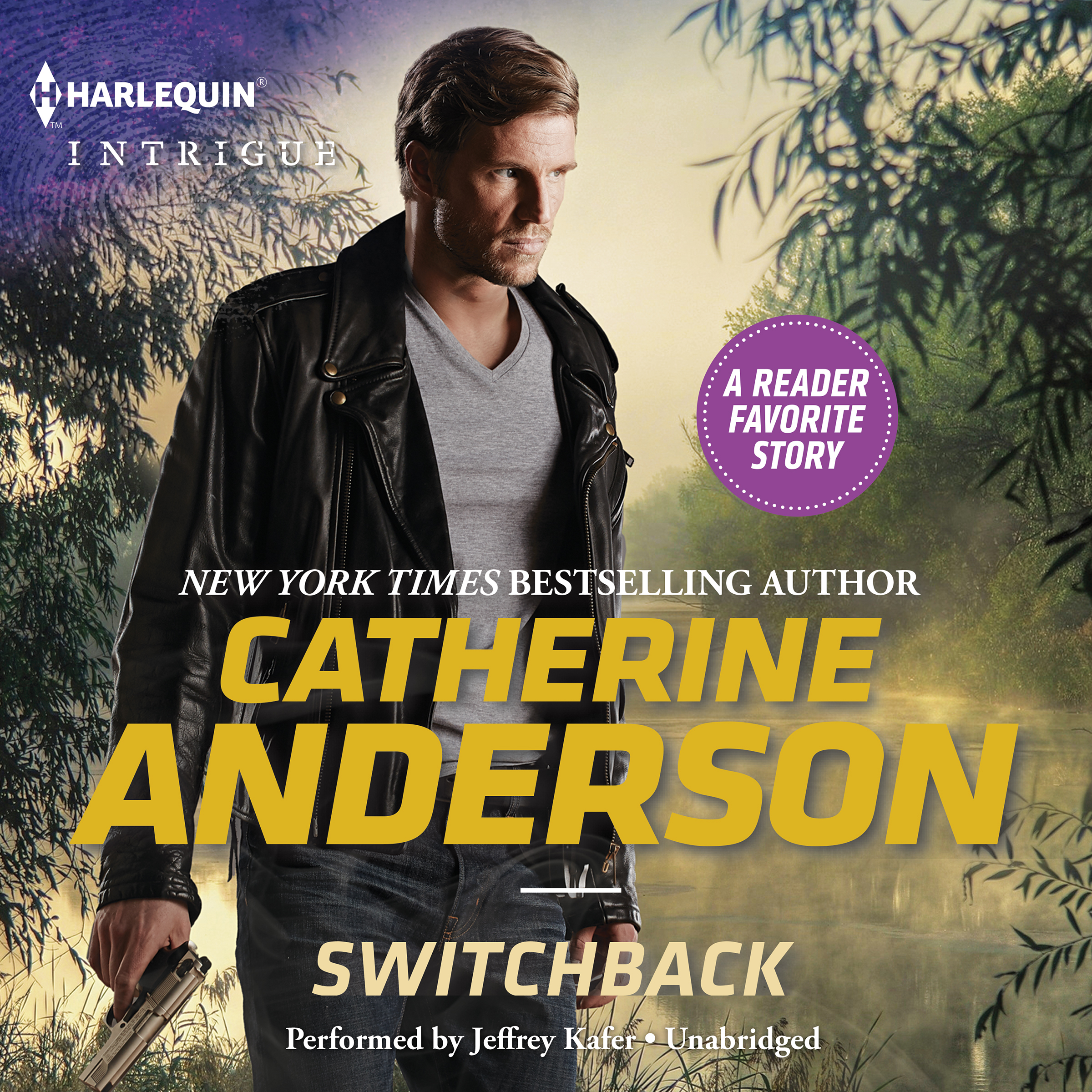 Printable Switchback Audiobook Cover Art