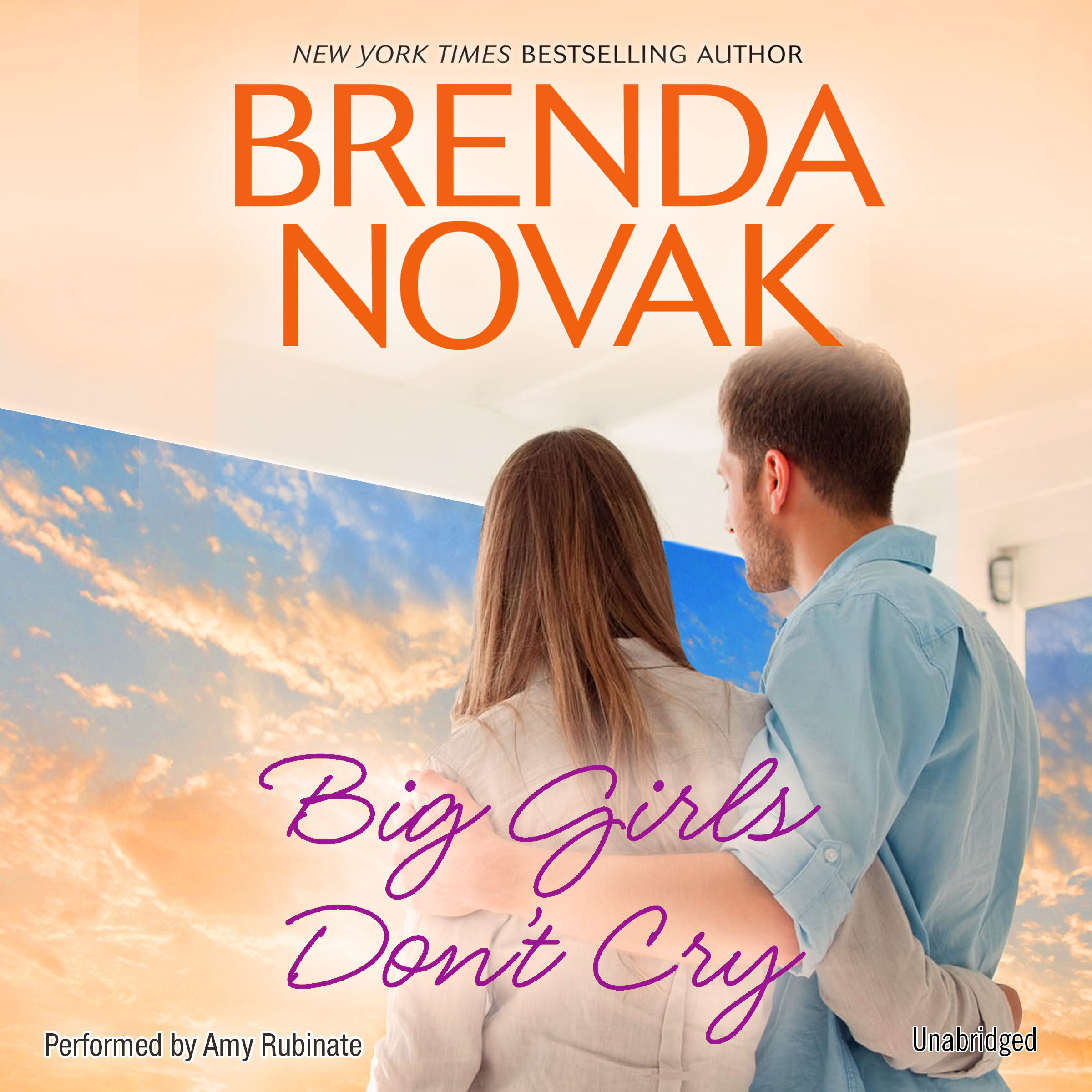 Printable Big Girls Don't Cry Audiobook Cover Art