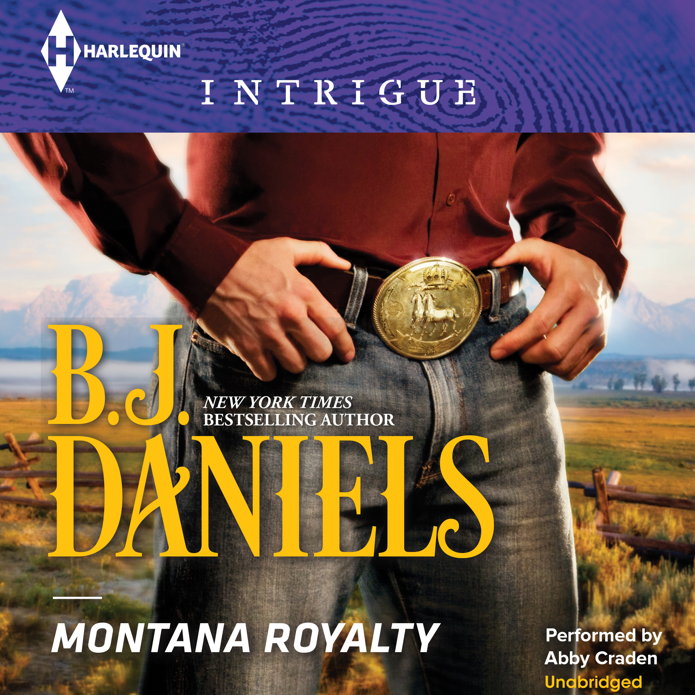 Printable Montana Royalty Audiobook Cover Art