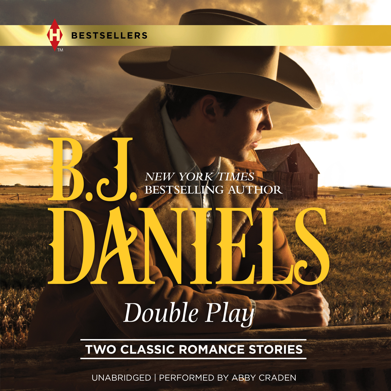 Printable Double Play Audiobook Cover Art