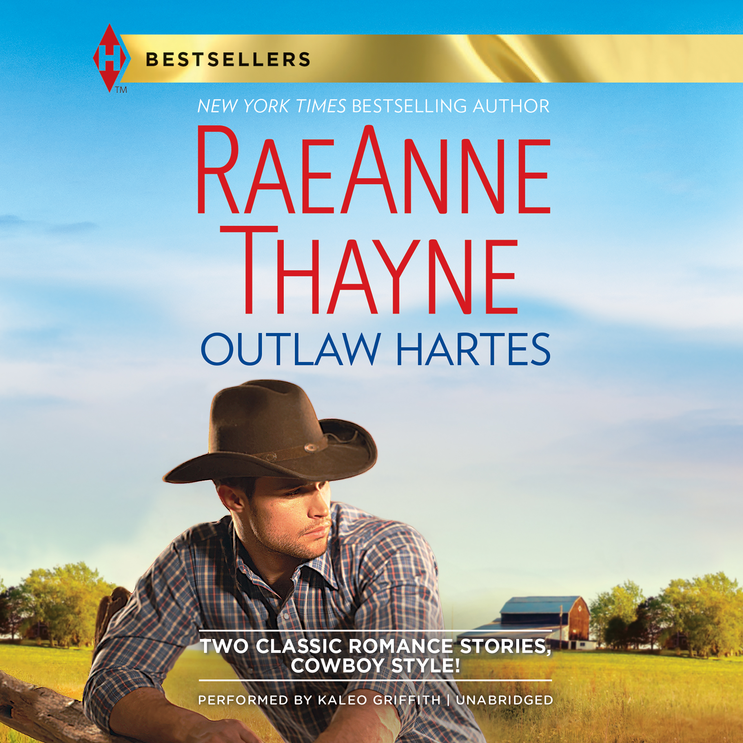 Printable Outlaw Hartes Audiobook Cover Art