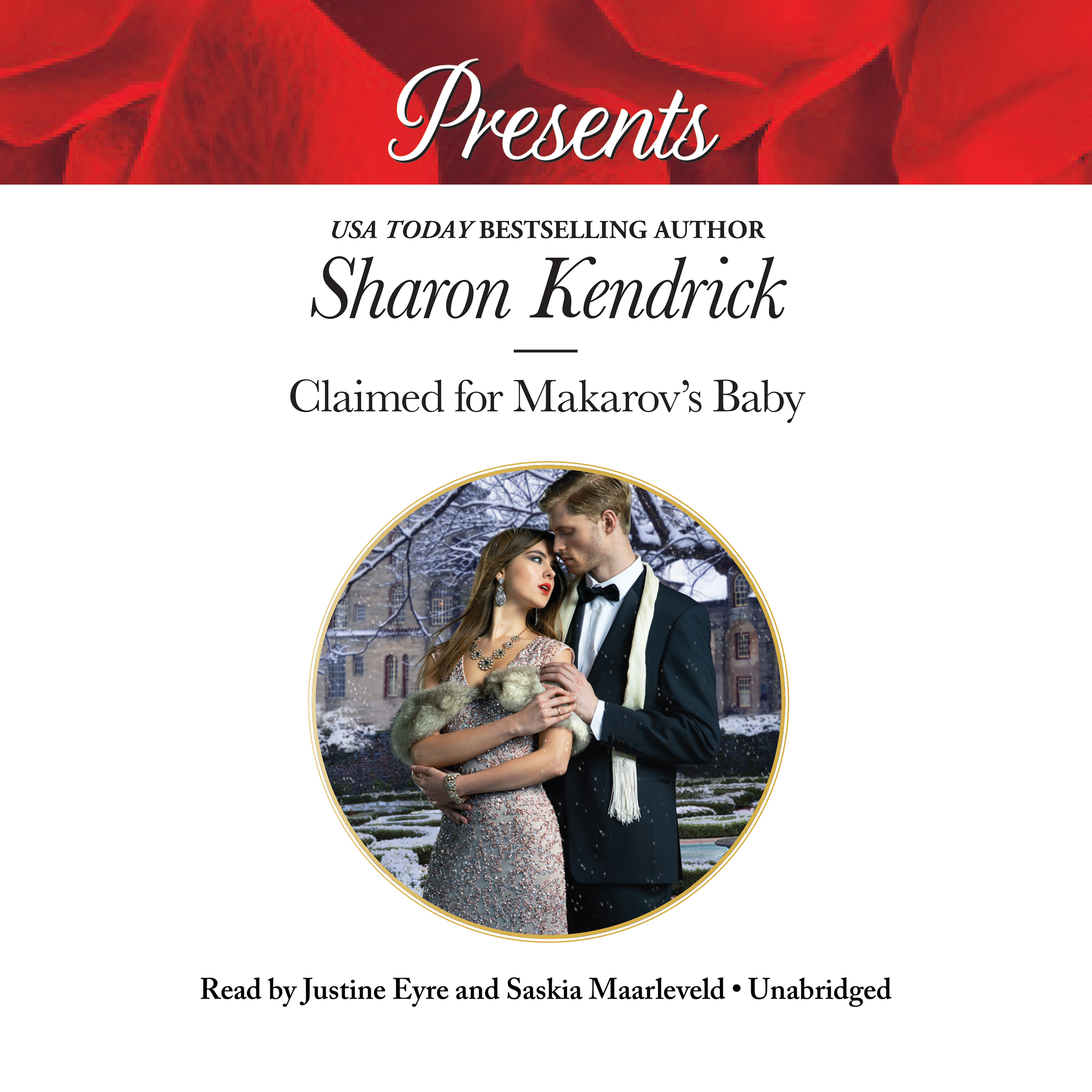 Printable Claimed for Makarov's Baby Audiobook Cover Art