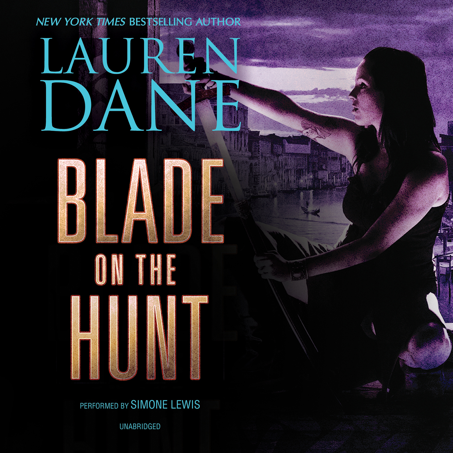 Printable Blade on the Hunt Audiobook Cover Art