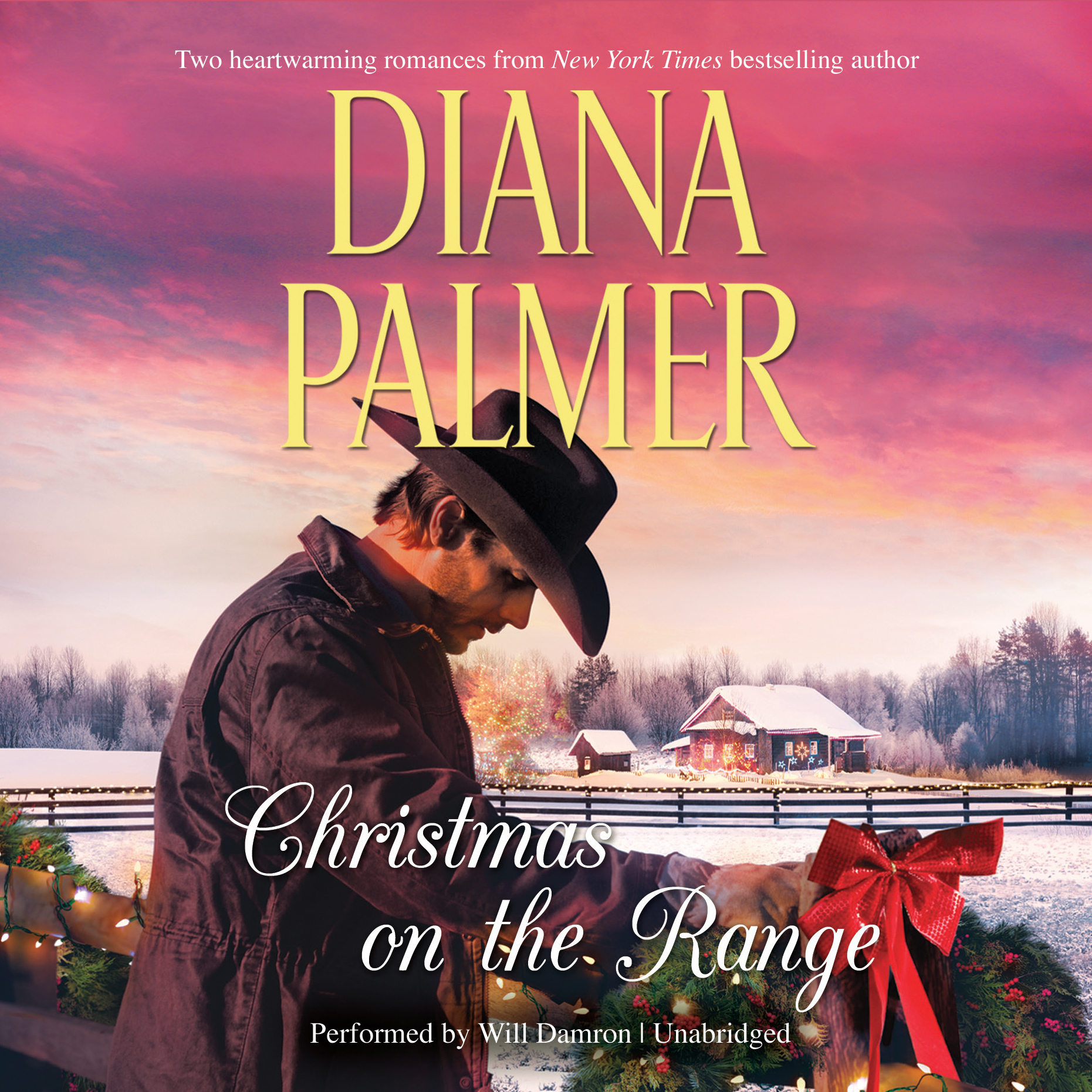 Printable Christmas on the Range Audiobook Cover Art