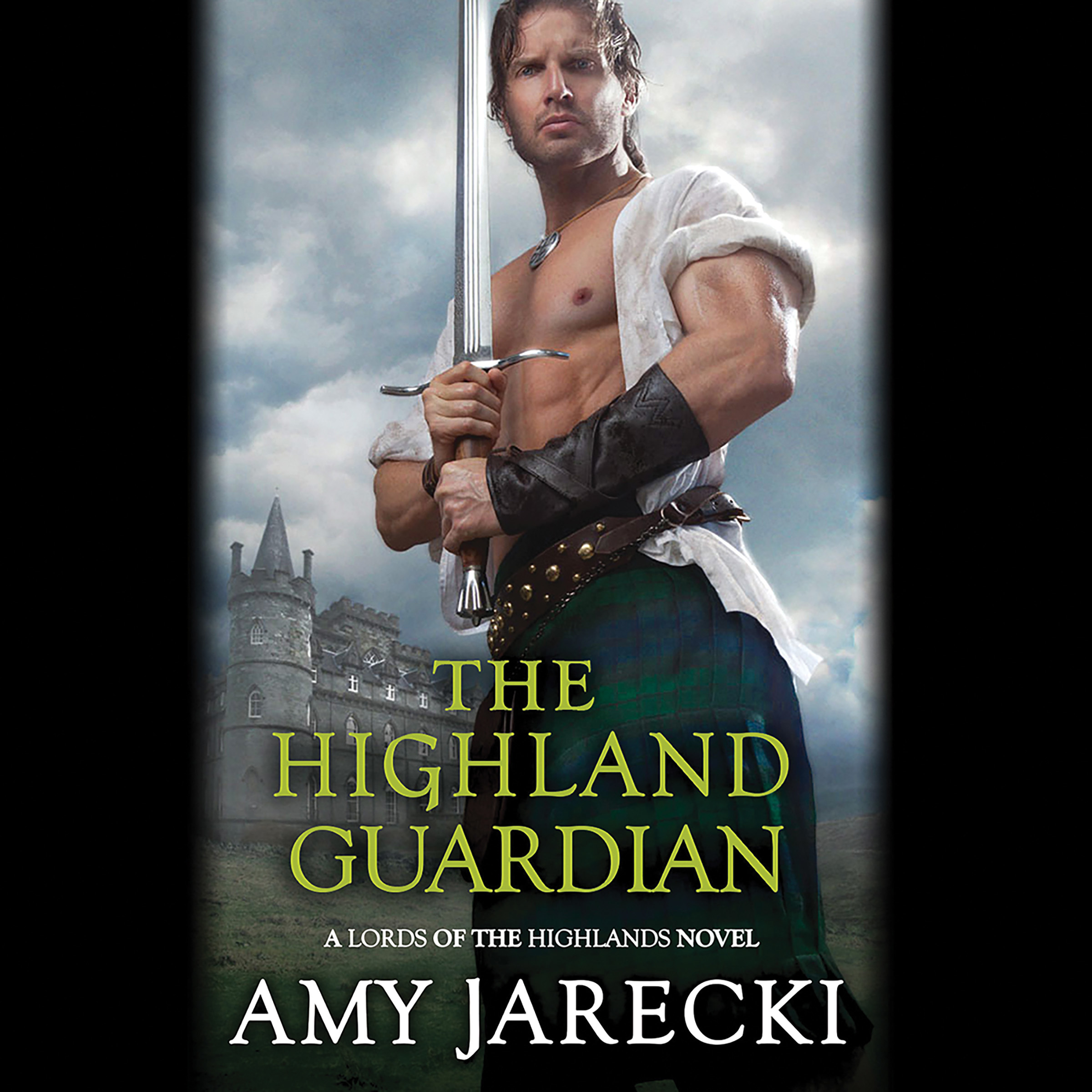 Printable The Highland Guardian Audiobook Cover Art