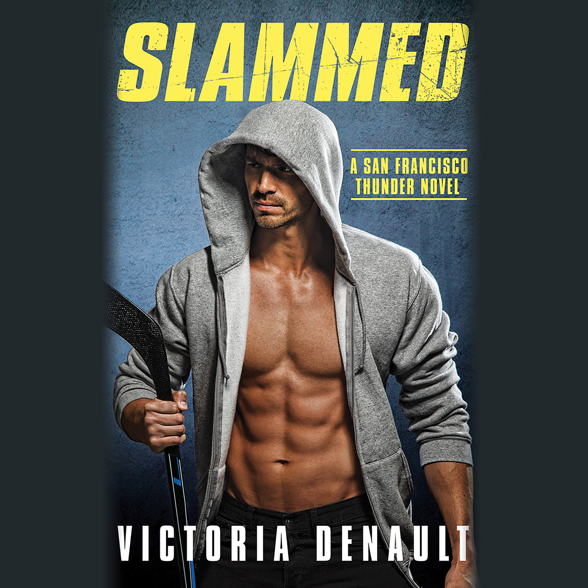 Printable Slammed Audiobook Cover Art