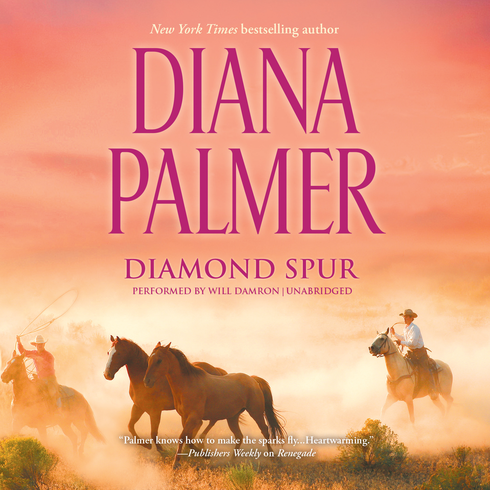 Printable Diamond Spur Audiobook Cover Art
