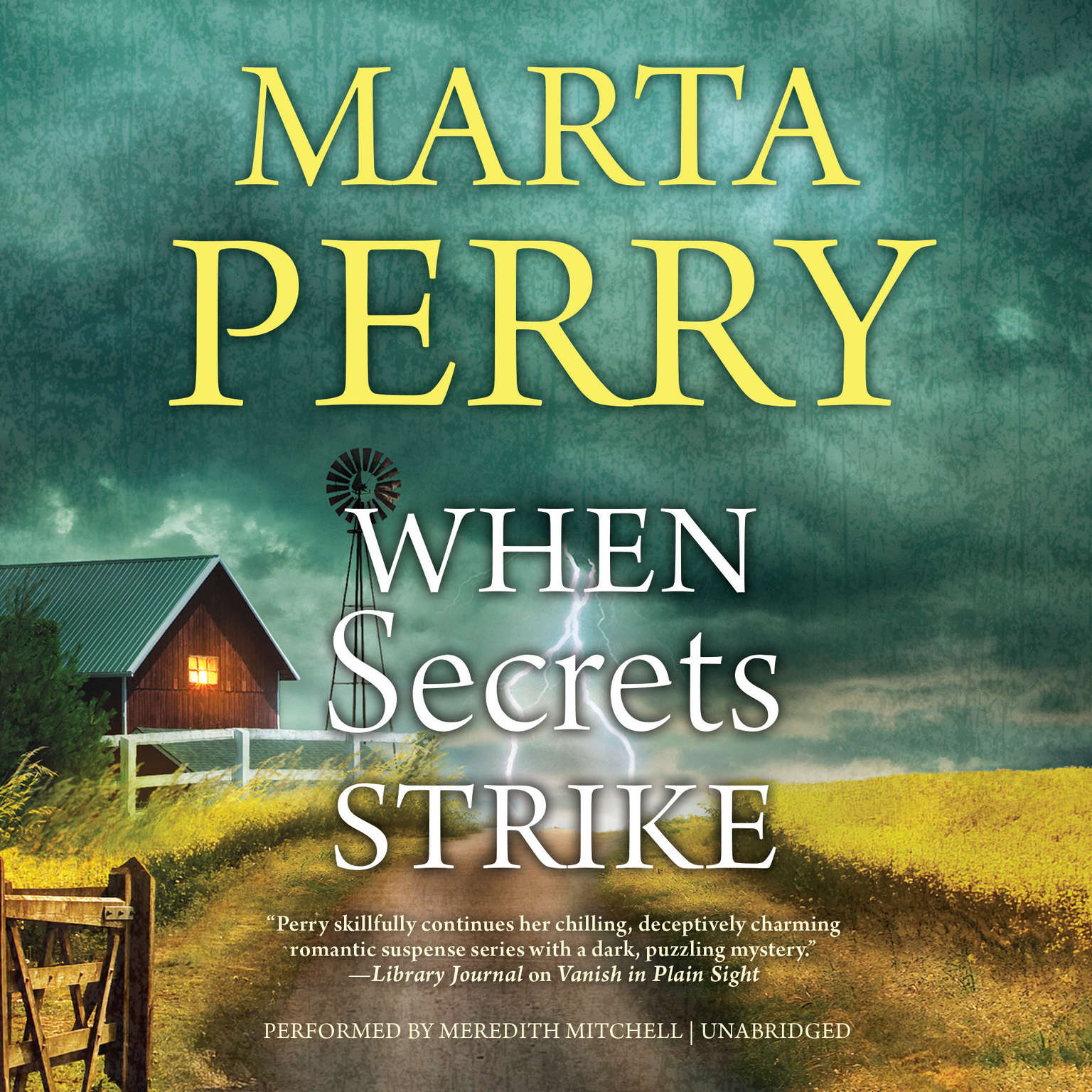 When Secrets Strike Audiobook, by Marta Perry