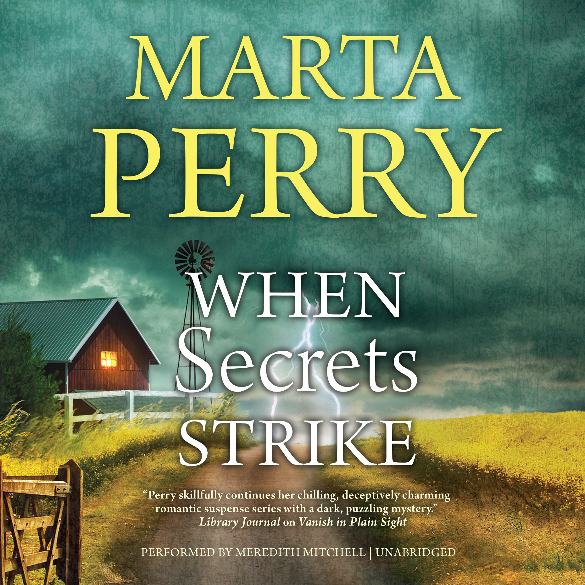 Printable When Secrets Strike Audiobook Cover Art