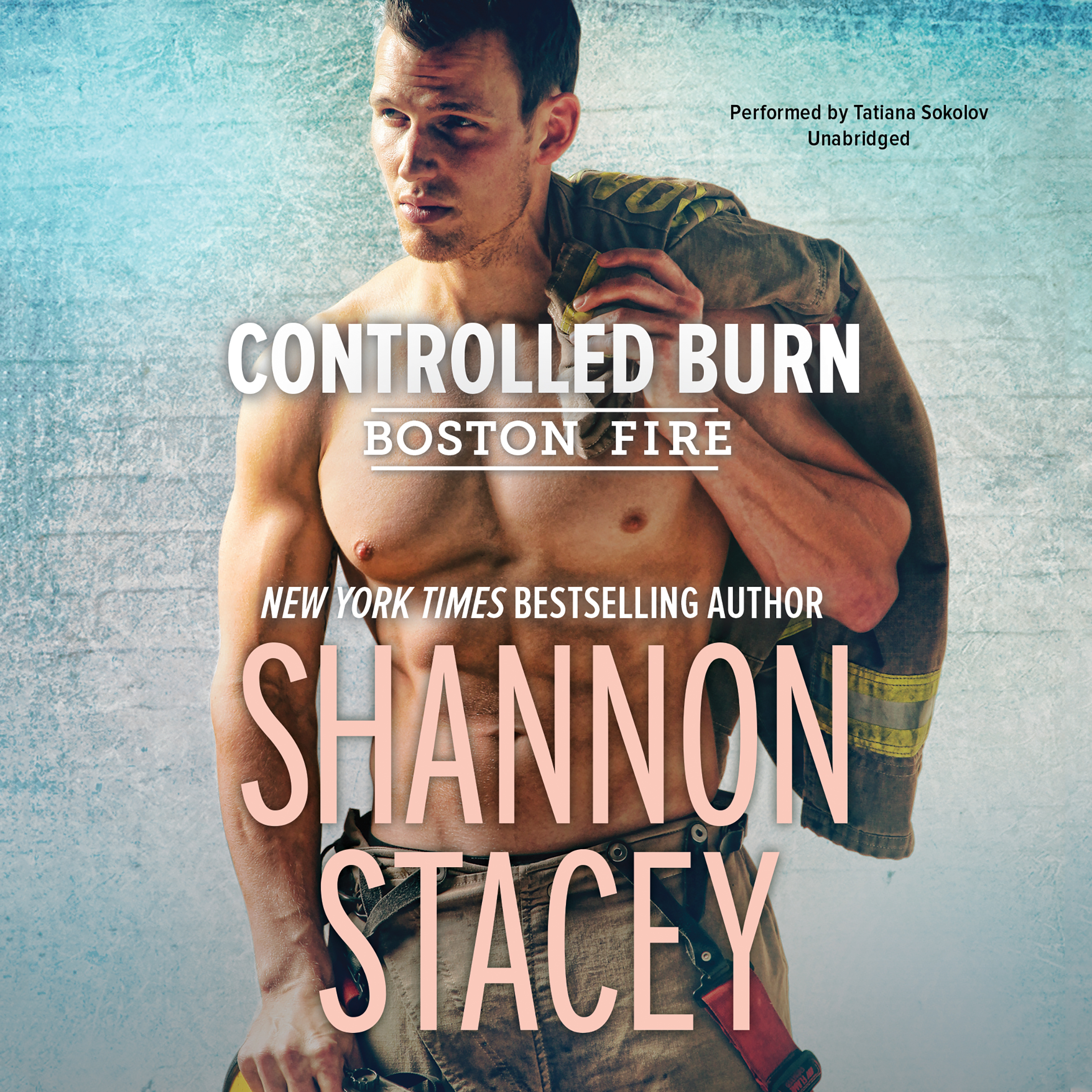 Printable Controlled Burn Audiobook Cover Art