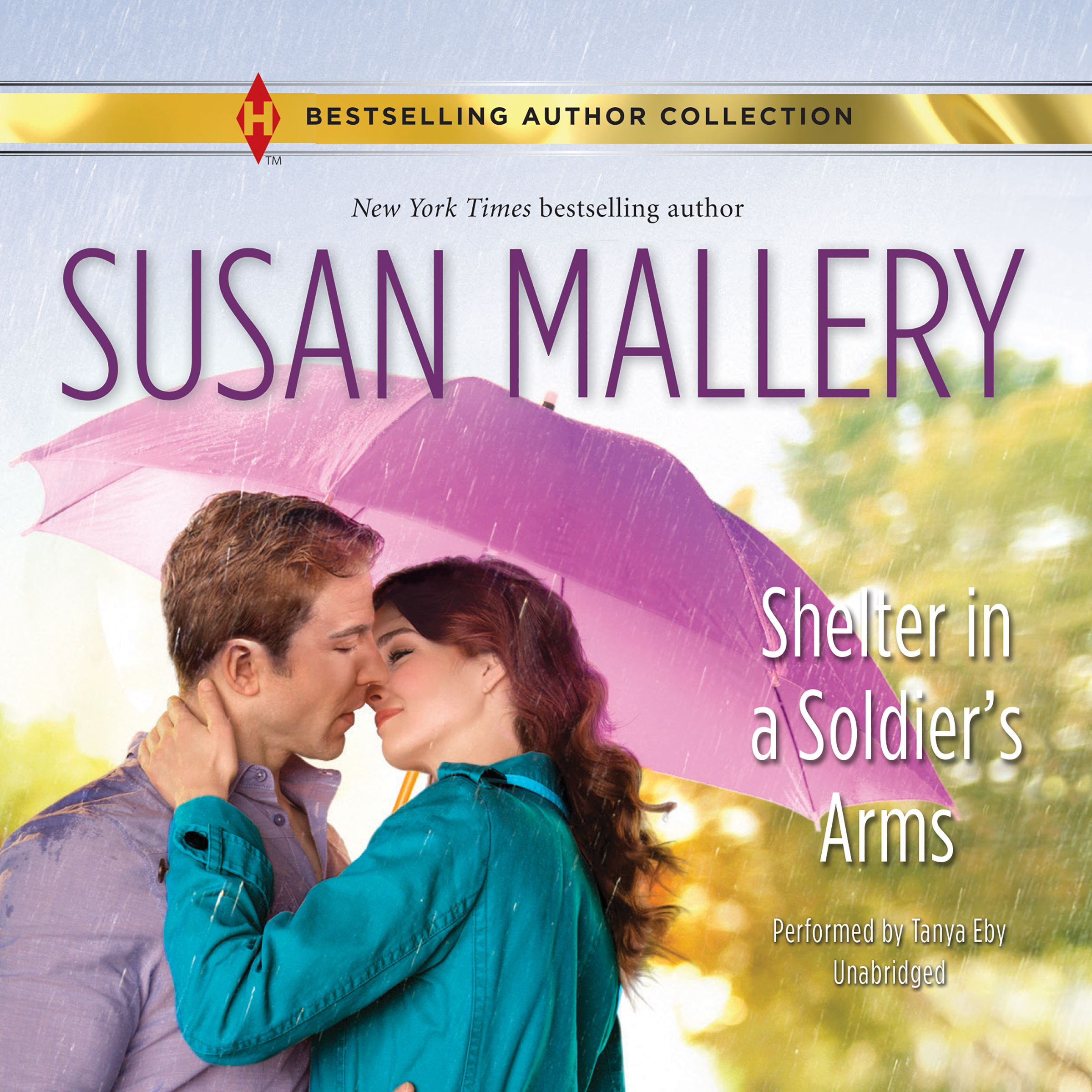Printable Shelter in a Soldier's Arms Audiobook Cover Art