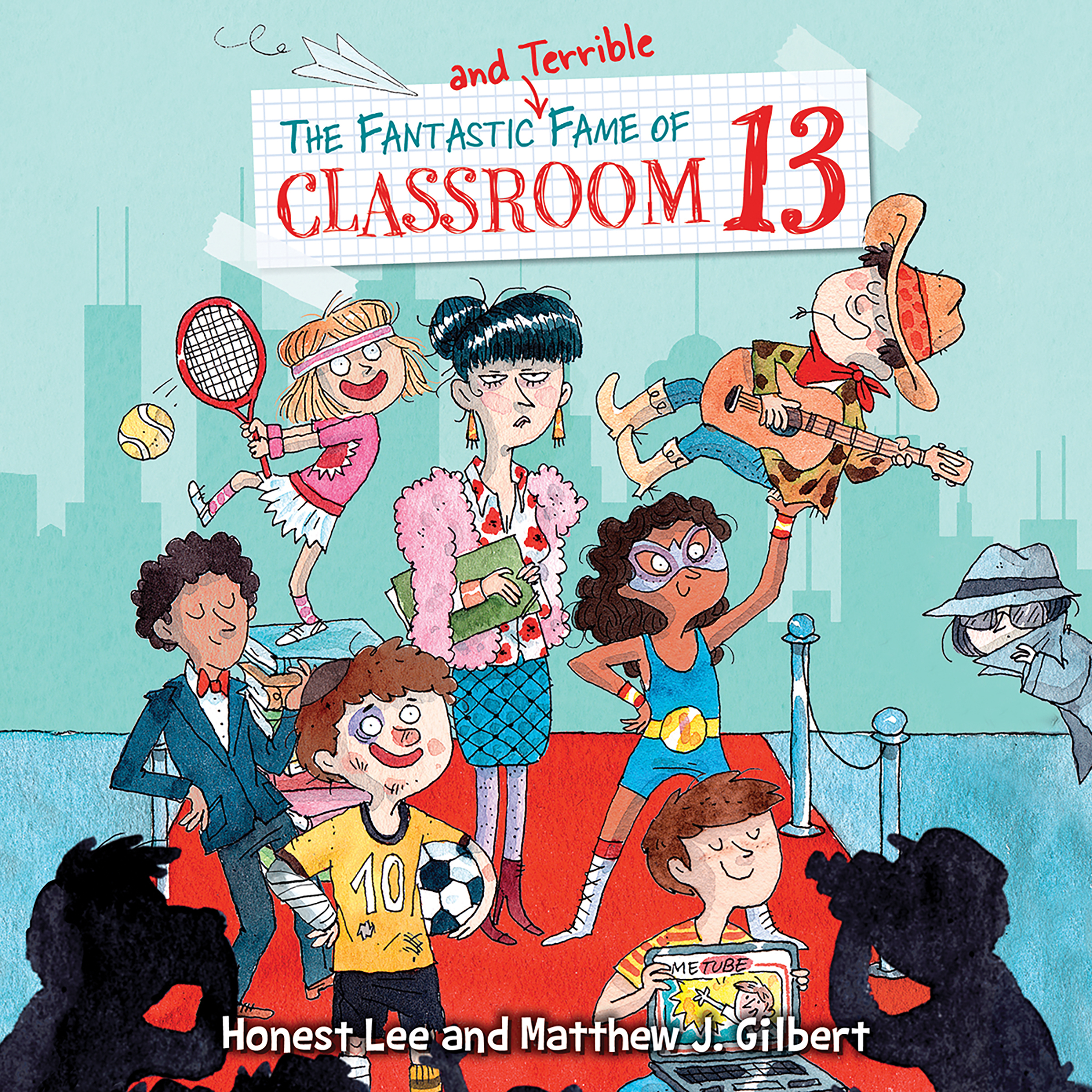 Printable The Fantastic and Terrible Fame of Classroom 13 Audiobook Cover Art
