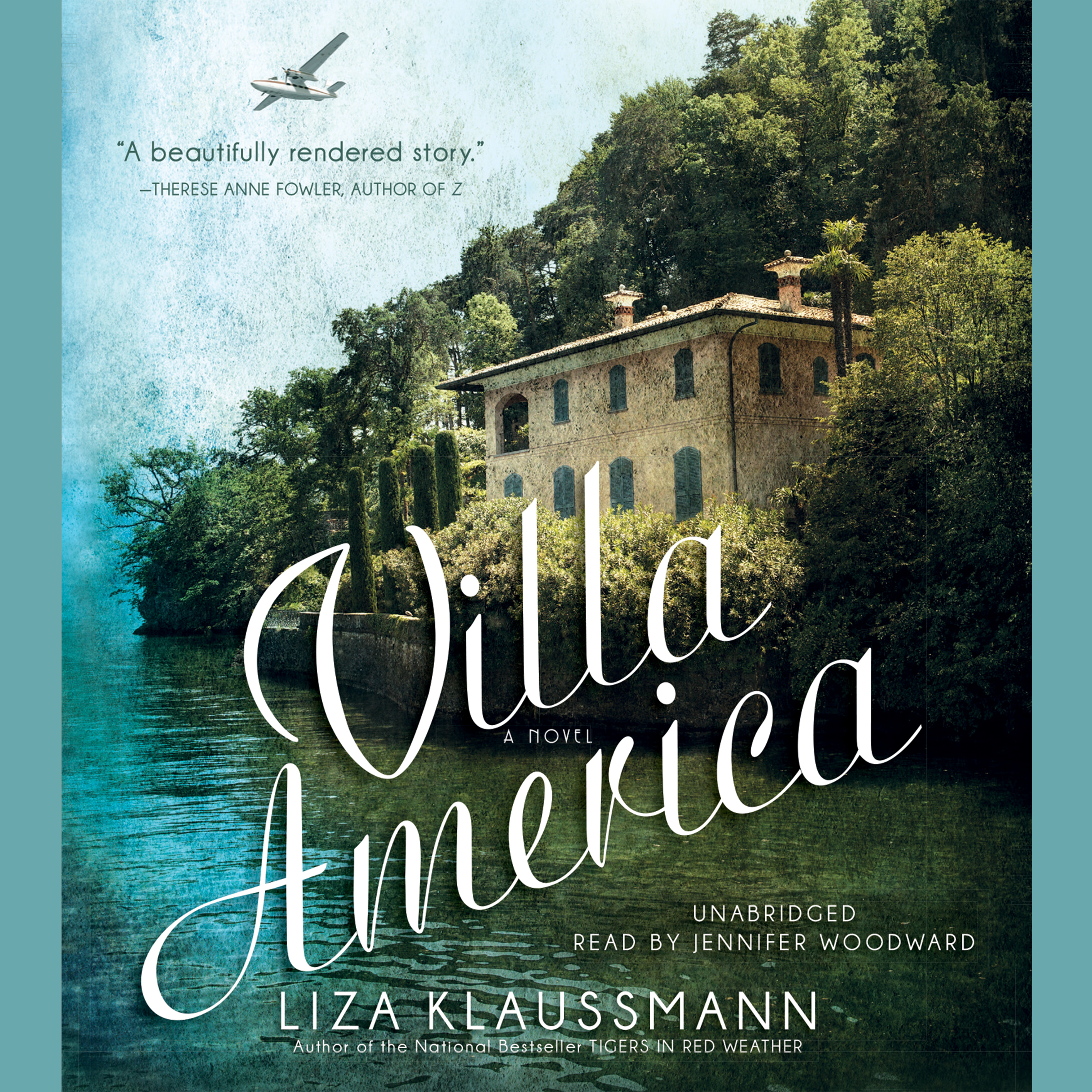 Printable Villa America: A Novel Audiobook Cover Art