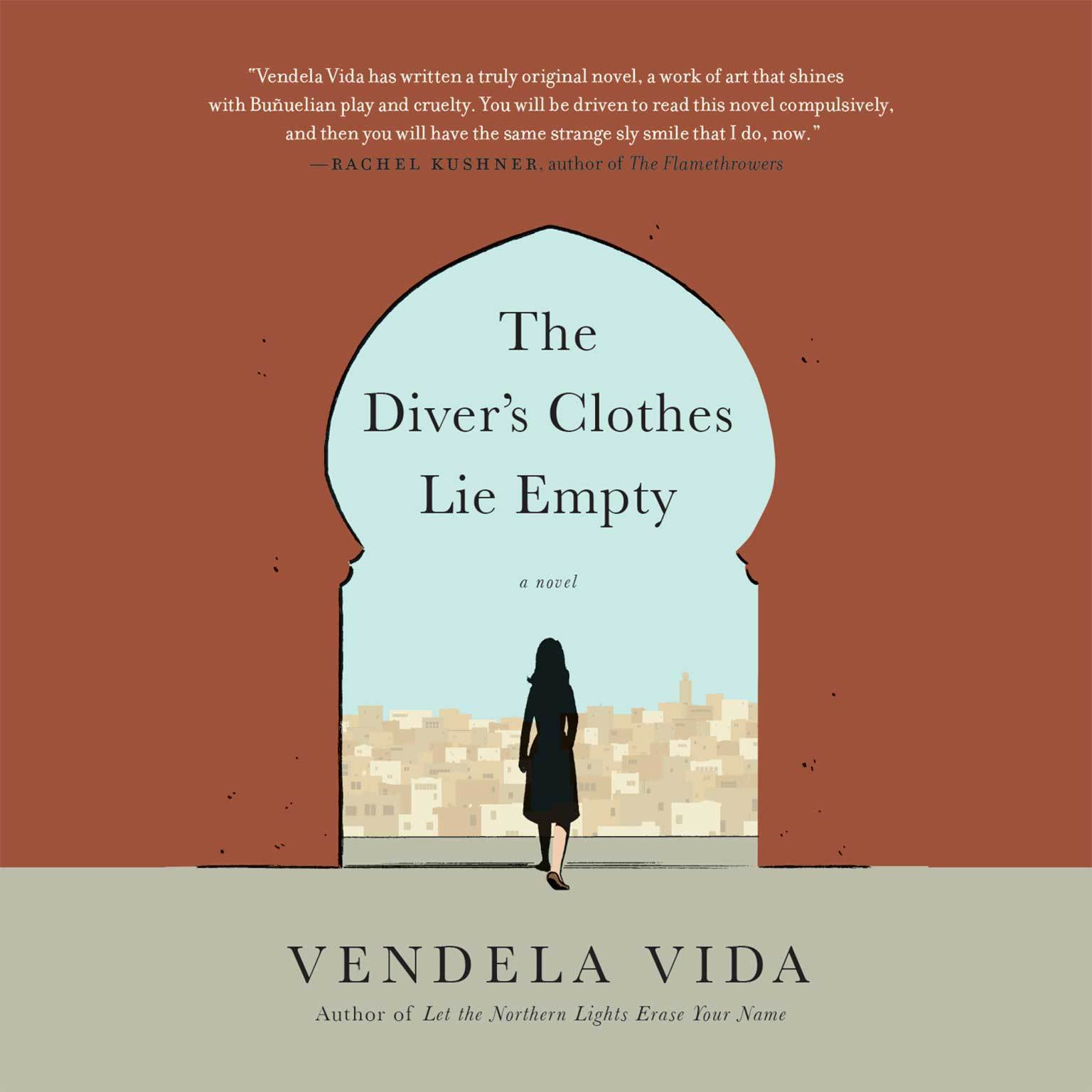 Printable The Diver's Clothes Lie Empty Audiobook Cover Art