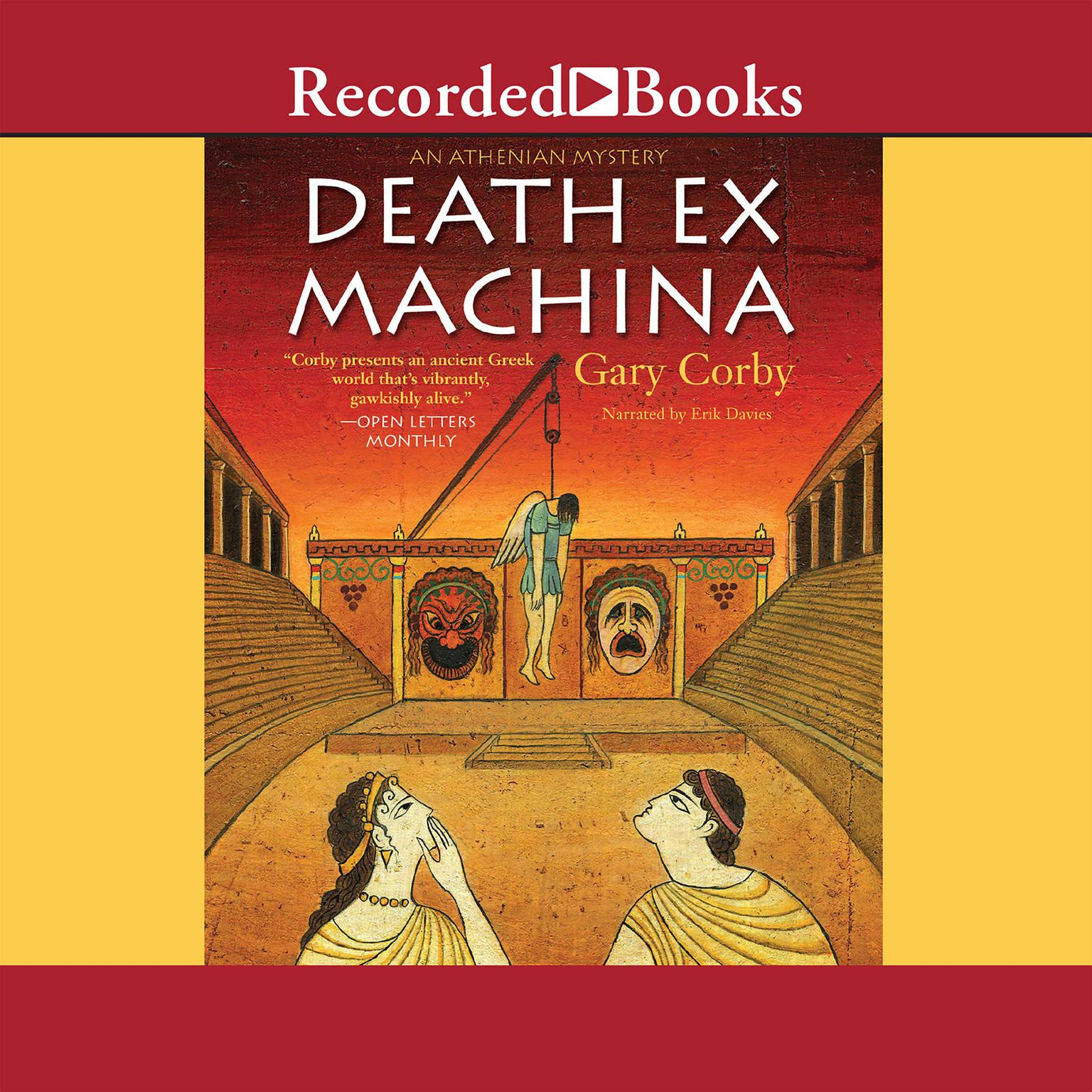 Printable Death ex Machina Audiobook Cover Art