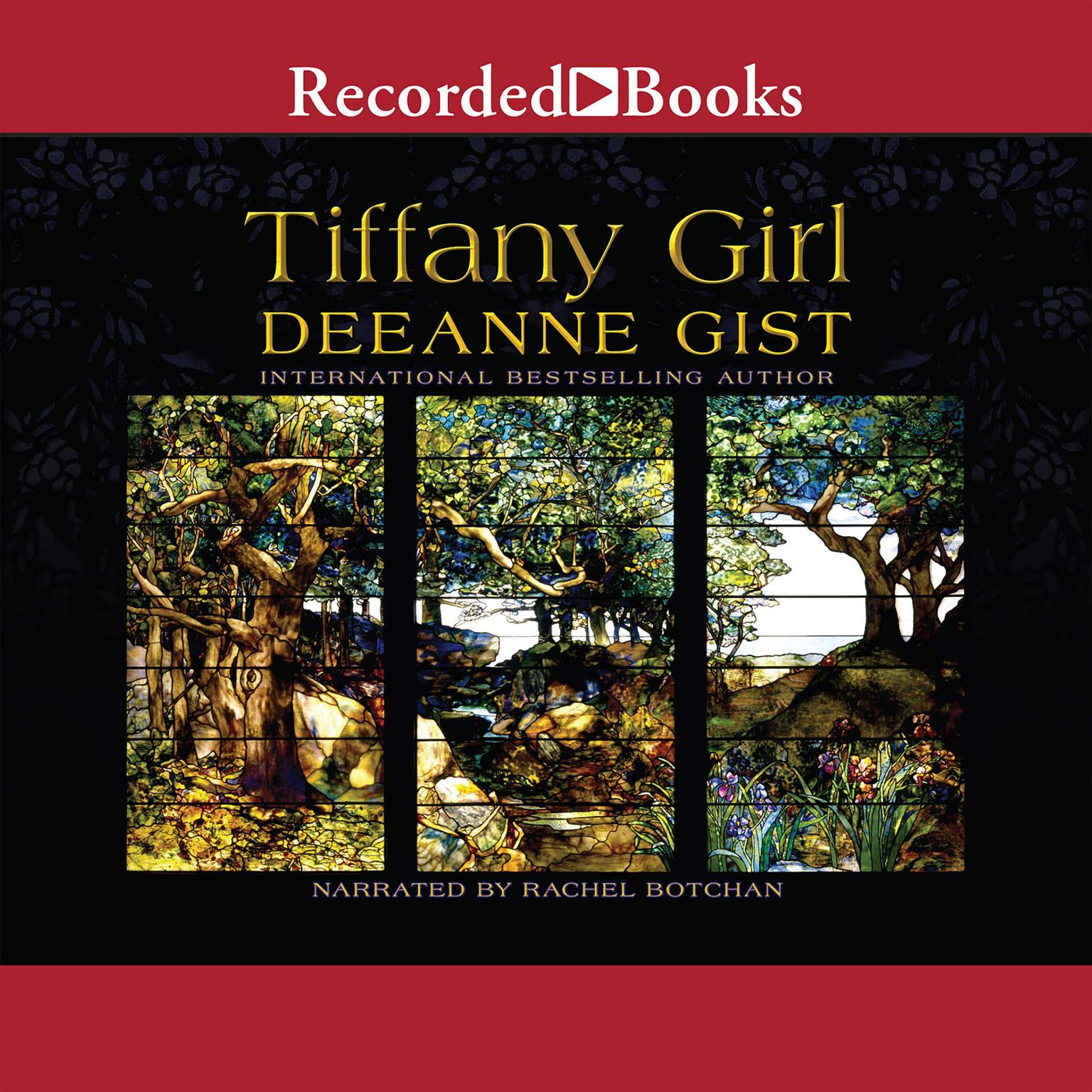 Printable Tiffany Girl Audiobook Cover Art