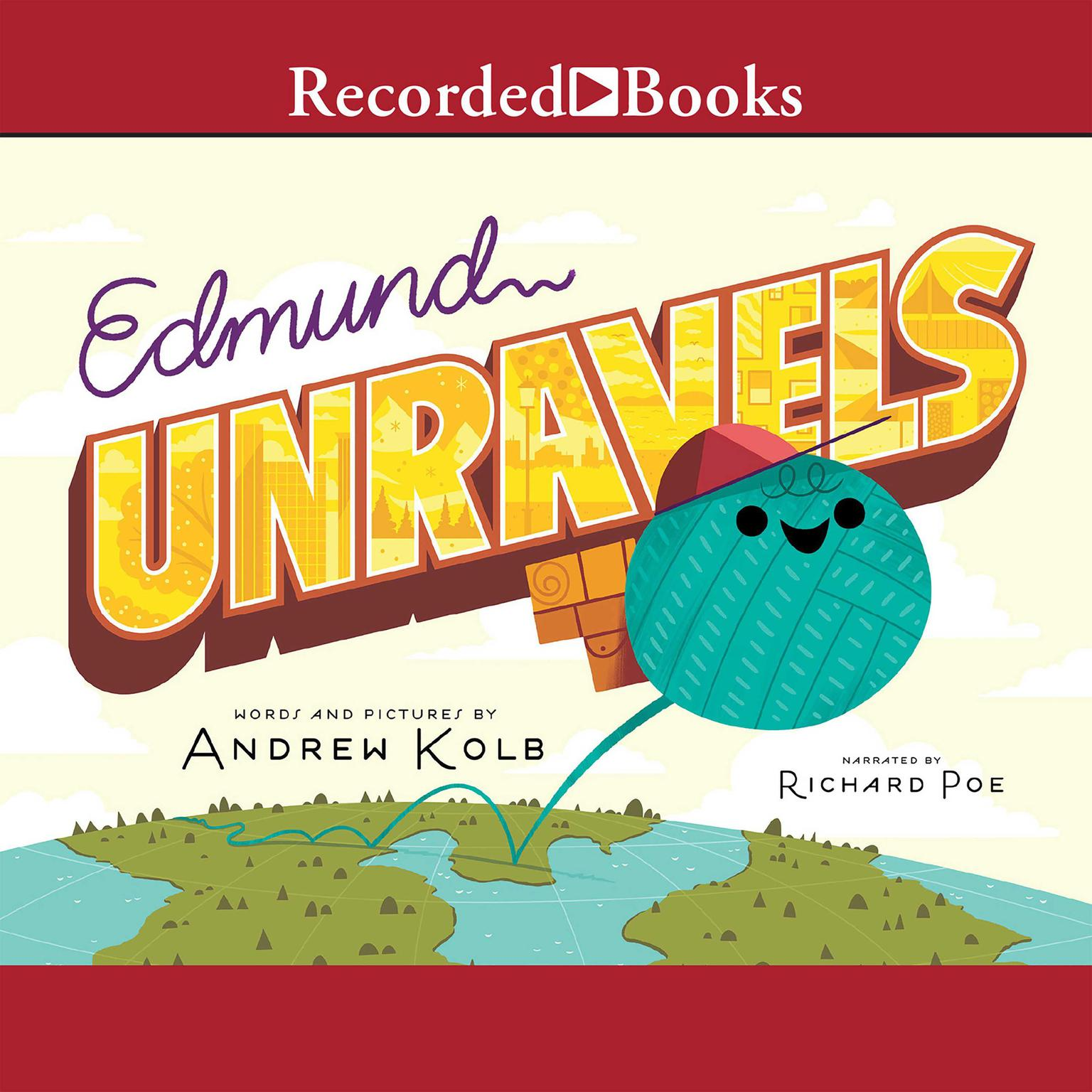 Printable Edmund Unravels Audiobook Cover Art